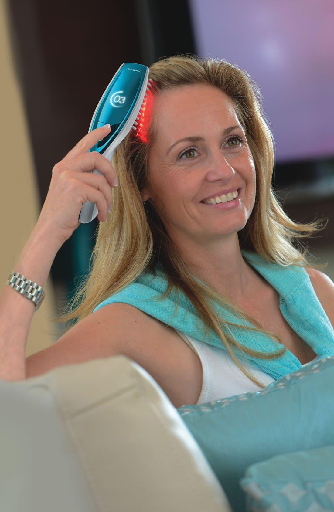 'Ultima 12 LaserComb' Laser Hair Regrowth Device,                             Alternate thumbnail 4, color,                             NO COLOR