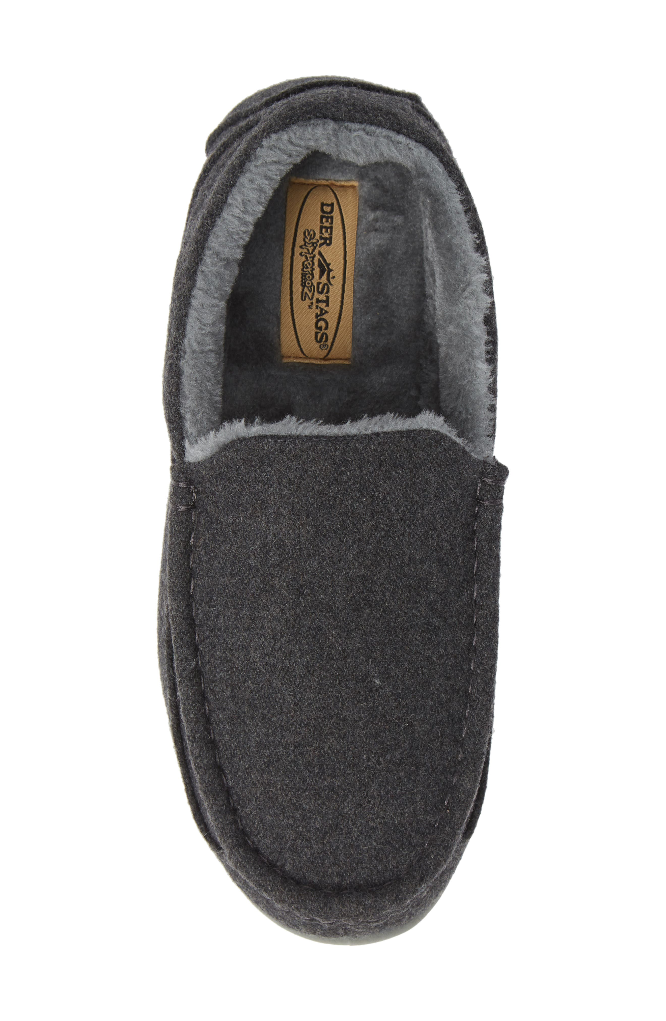 Spun Slipper,                             Alternate thumbnail 5, color,                             DARK GREY
