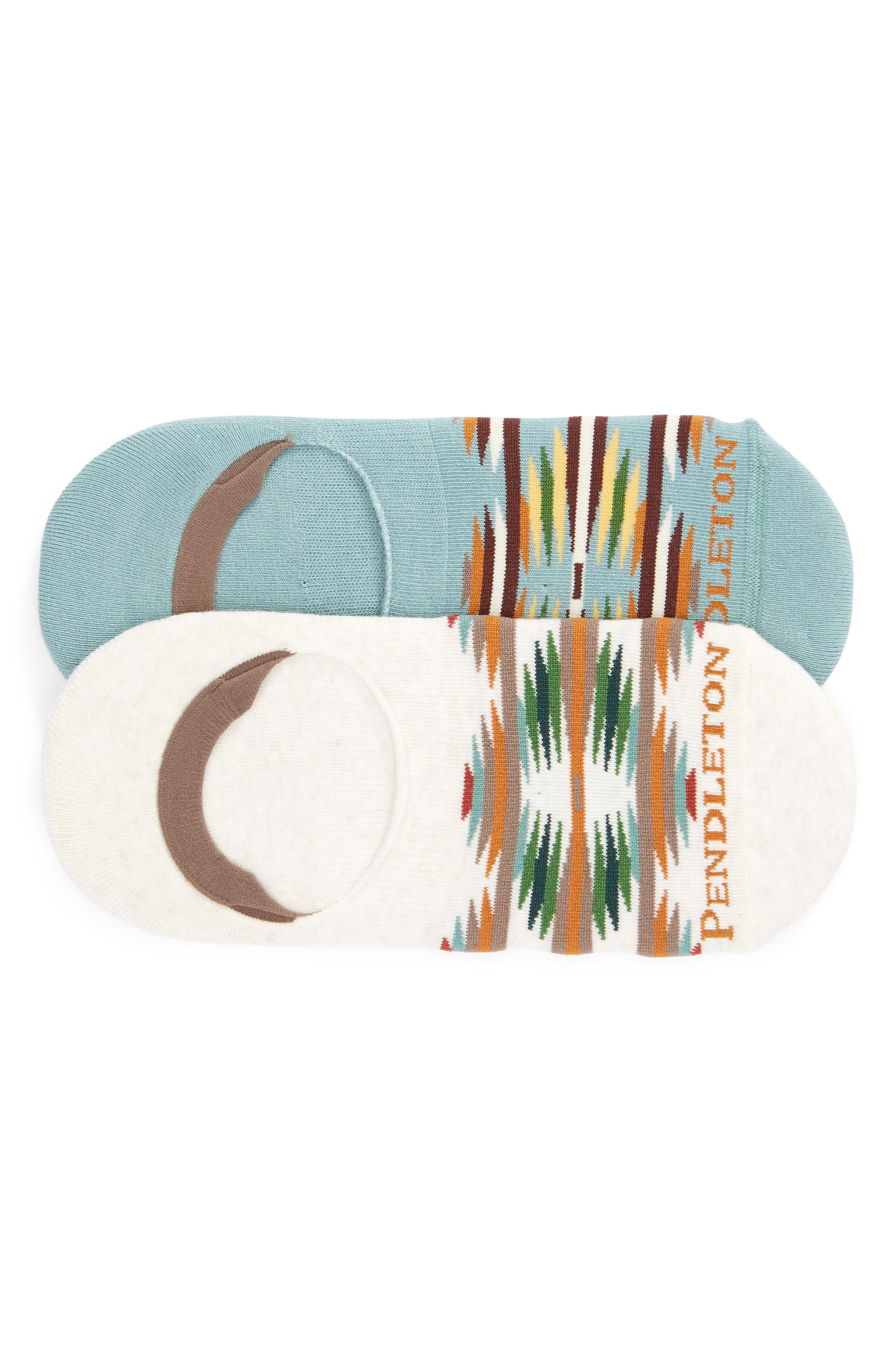 PENDLETON Falcon Cove 2-Pack No-Show Socks in Assorted