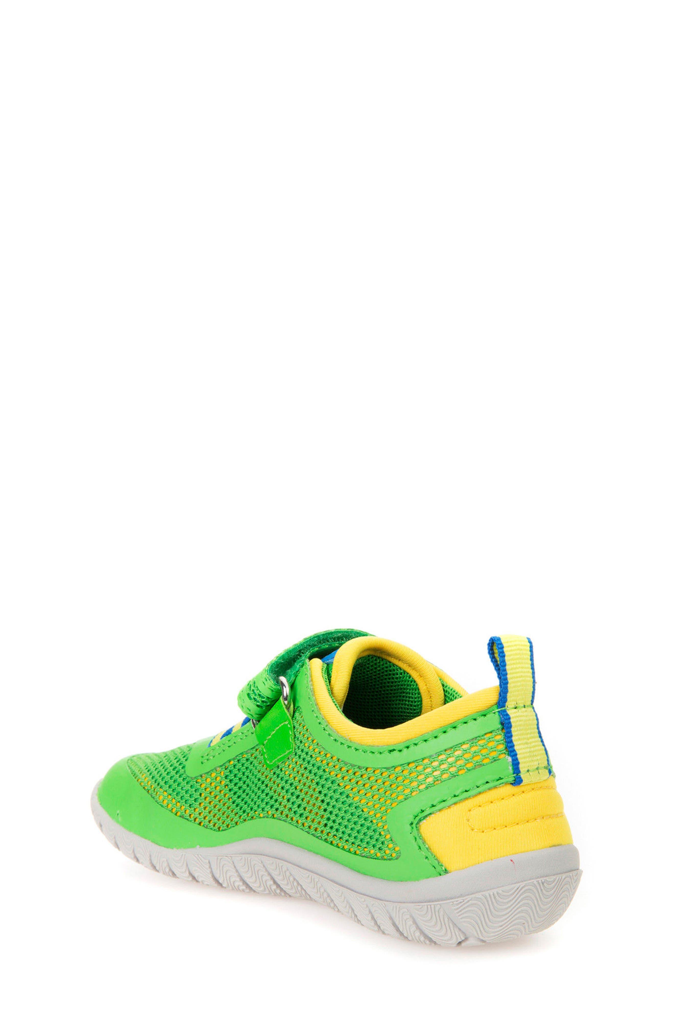 Trifon Sneaker,                             Alternate thumbnail 2, color,                             GREEN/ YELLOW