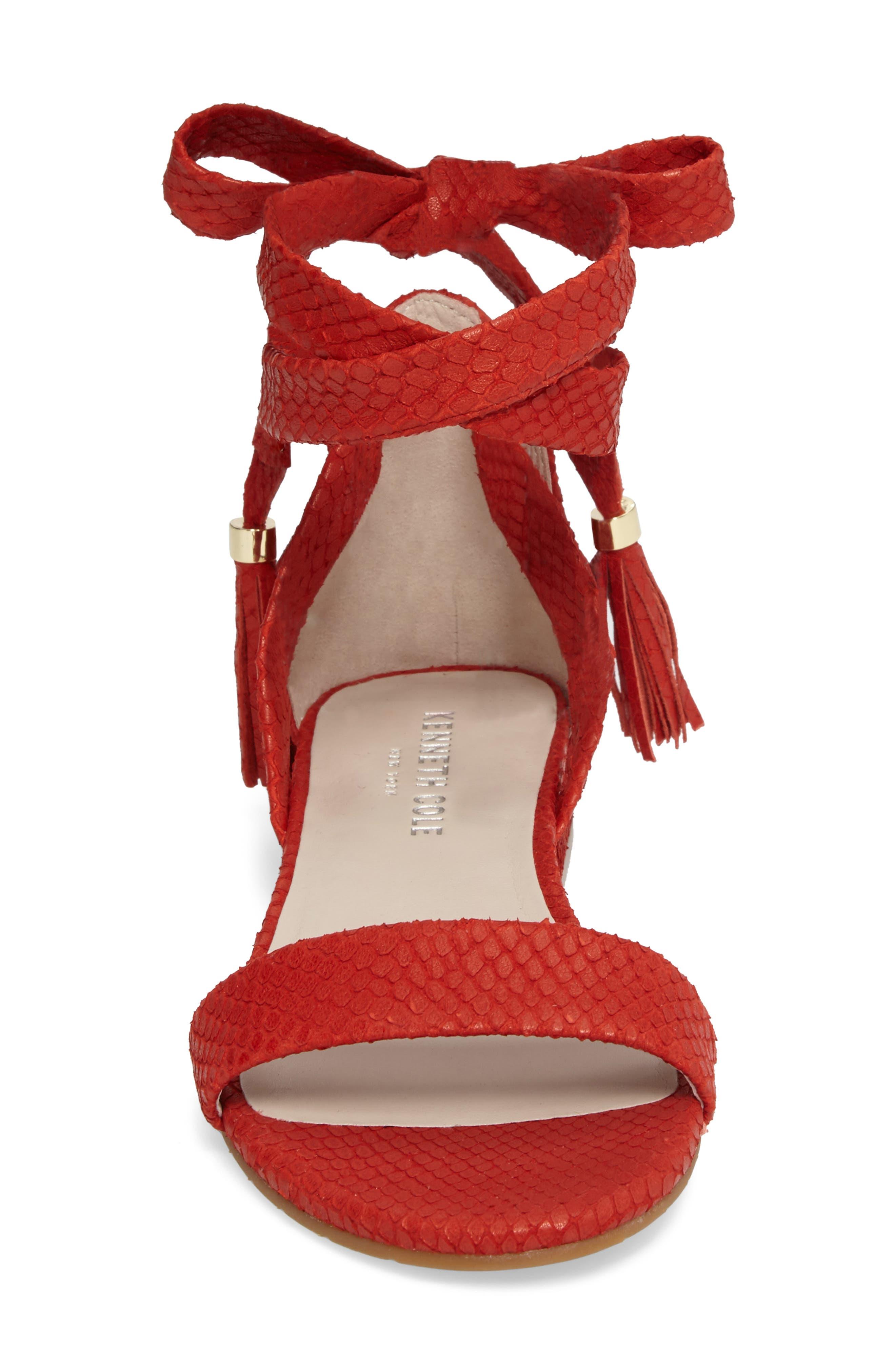 Valen Tassel Lace-Up Sandal,                             Alternate thumbnail 52, color,