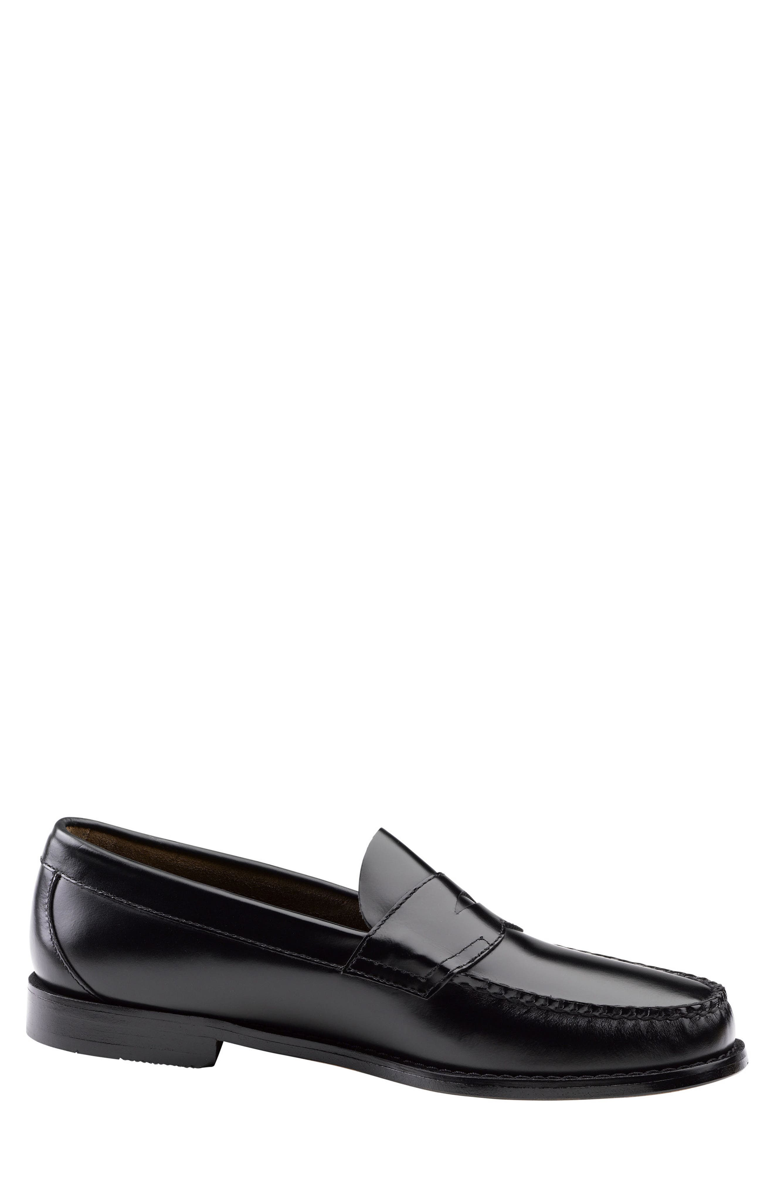 Logan Penny Loafer,                             Alternate thumbnail 3, color,                             001