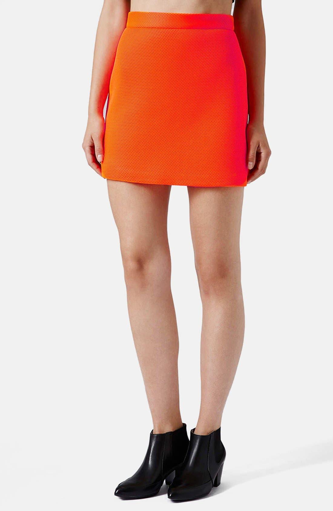 Airtex Miniskirt,                             Main thumbnail 2, color,