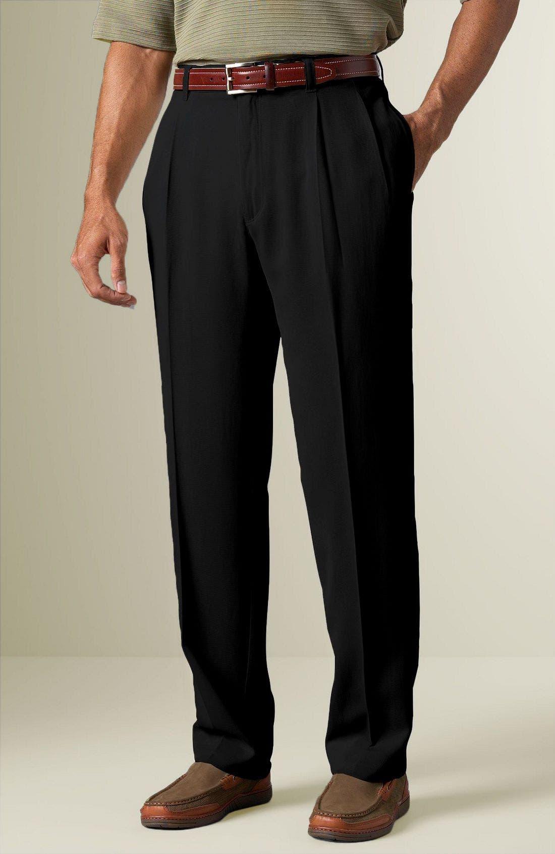 TOMMY BAHAMA 'St. Thomas' Pants, Main, color, BLK