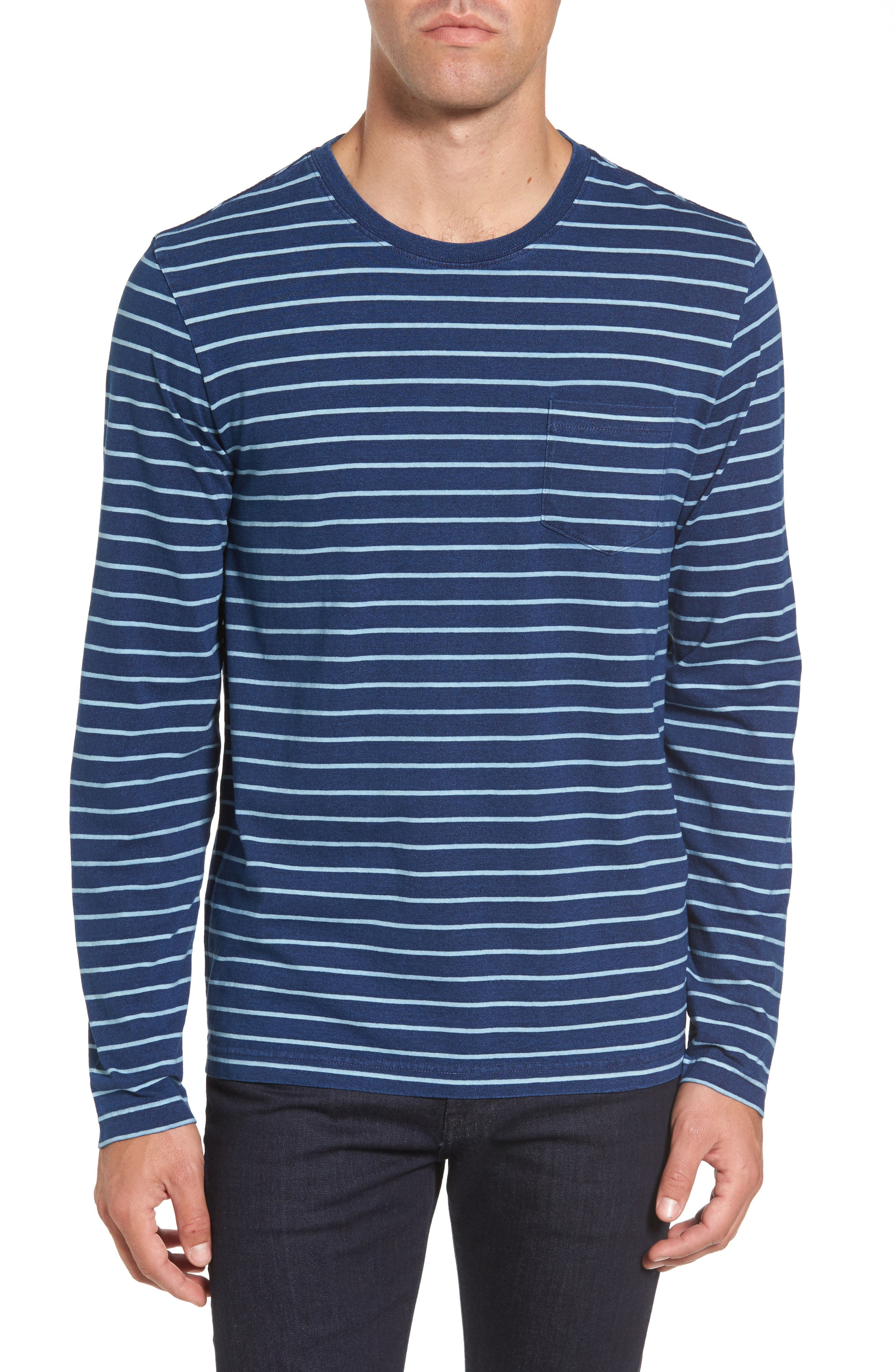 Sailor Stripe Jersey T-Shirt,                         Main,                         color, 104
