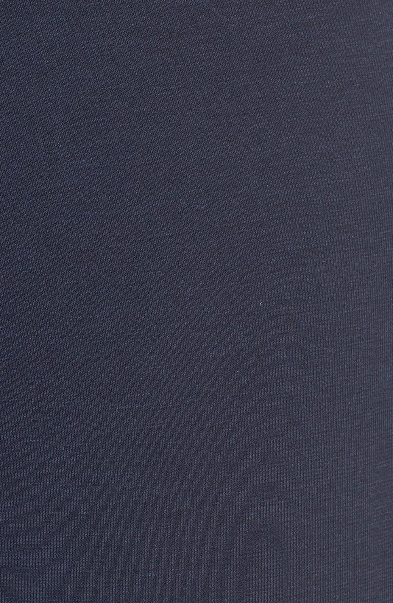Infinity Cotton Blend Boxer Briefs,                             Alternate thumbnail 5, color,                             NAVY