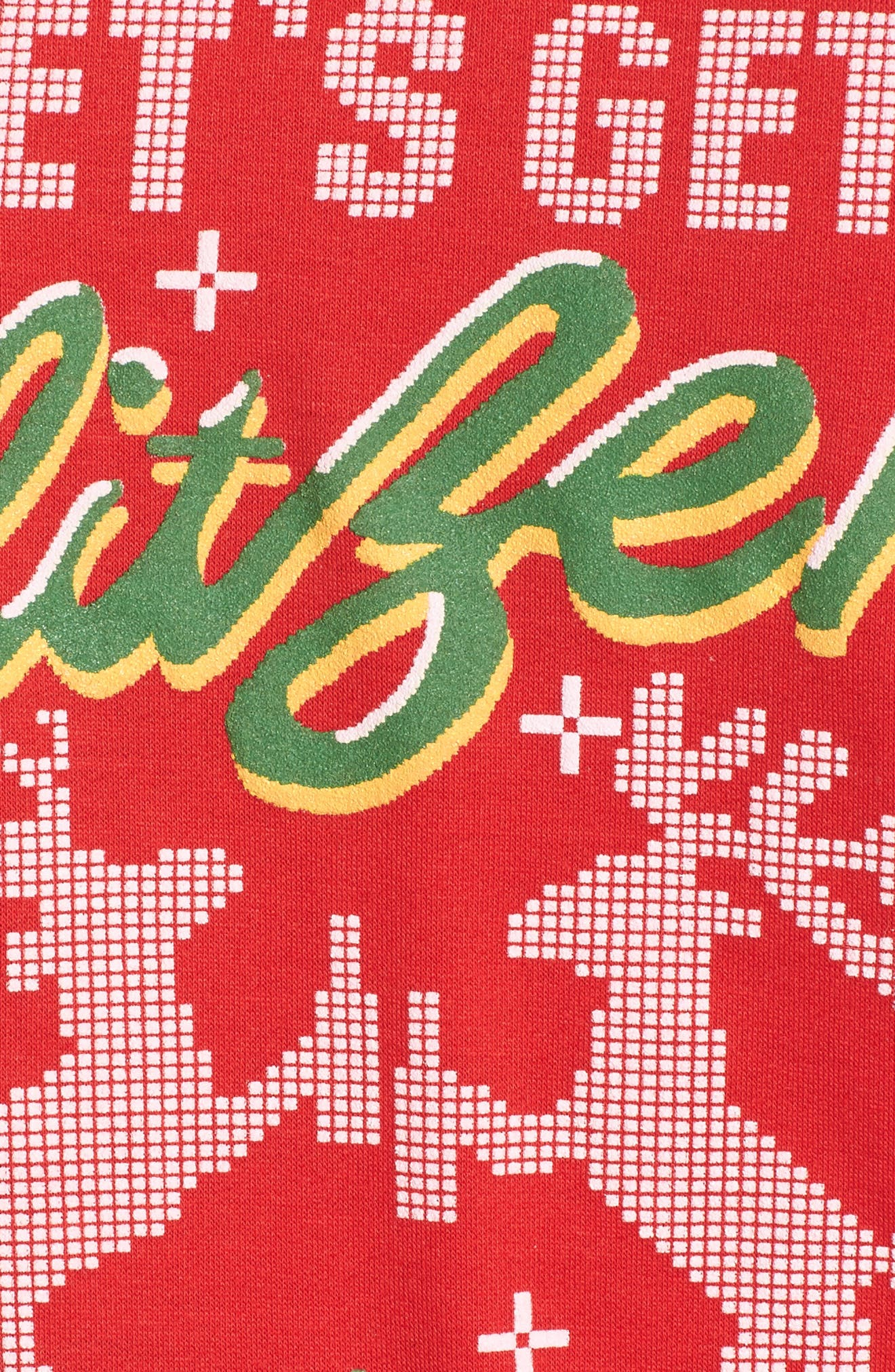 Let's Get Blitzen Sweatshirt,                             Alternate thumbnail 5, color,                             600