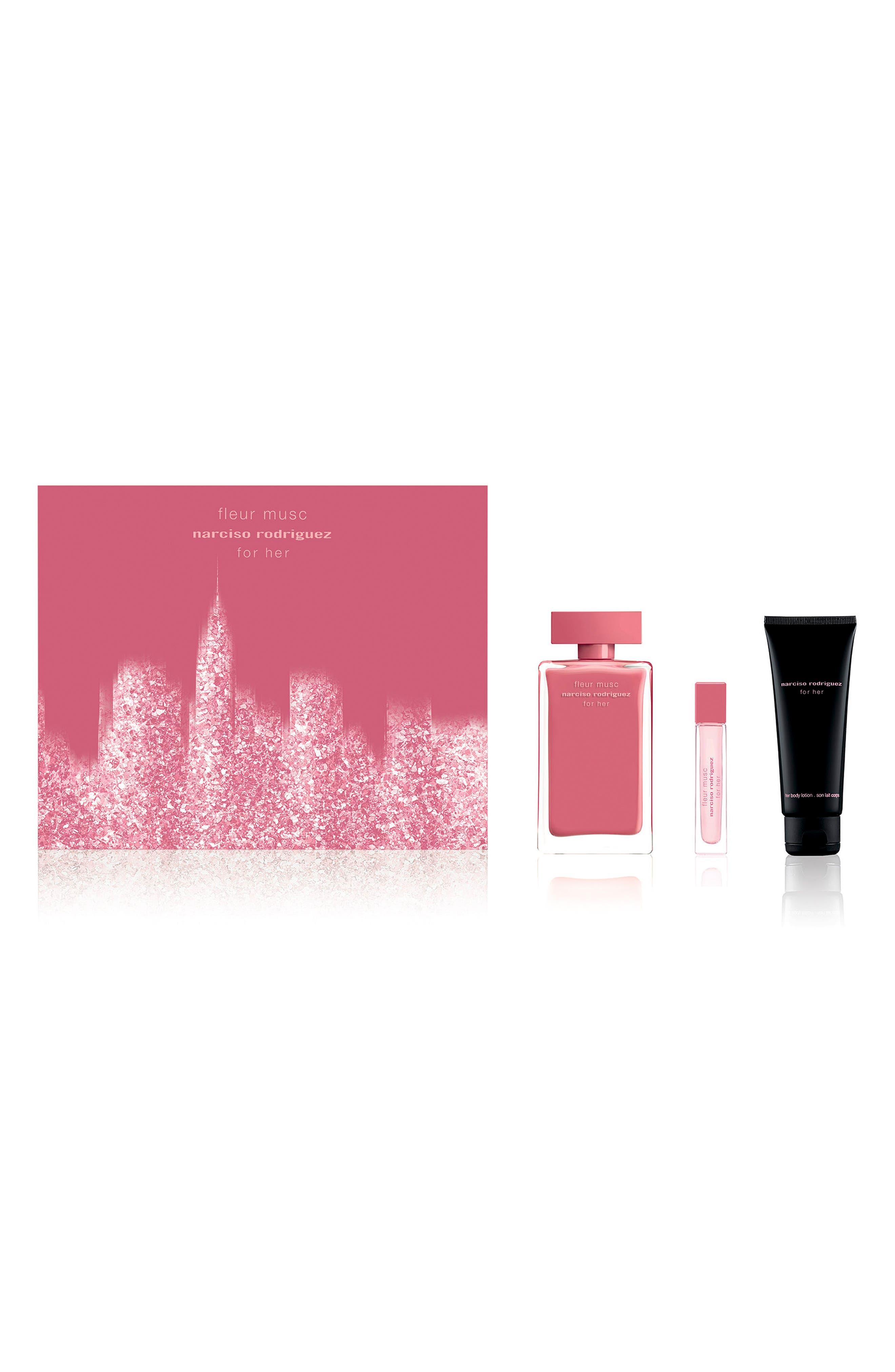 For Her Fleur Musc Eau de Parfum Set,                             Main thumbnail 1, color,                             000