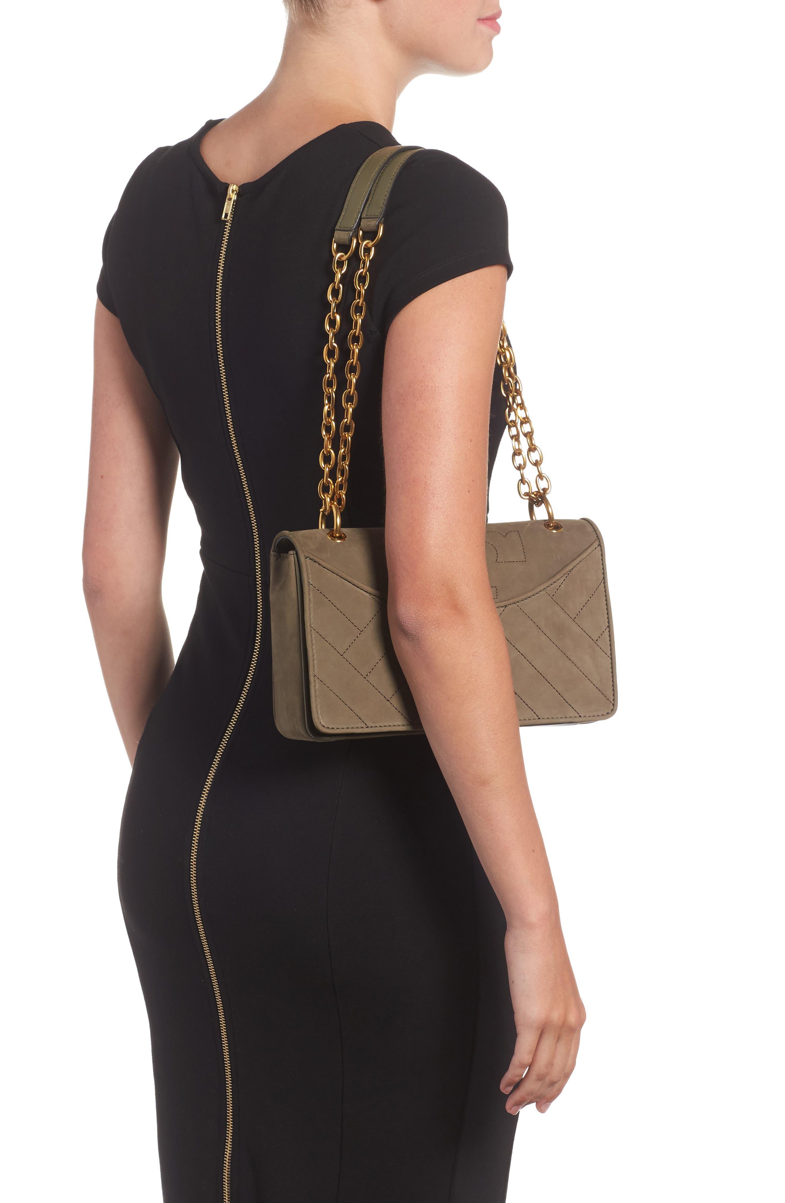 Alexa Leather Shoulder Bag,                             Alternate thumbnail 9, color,