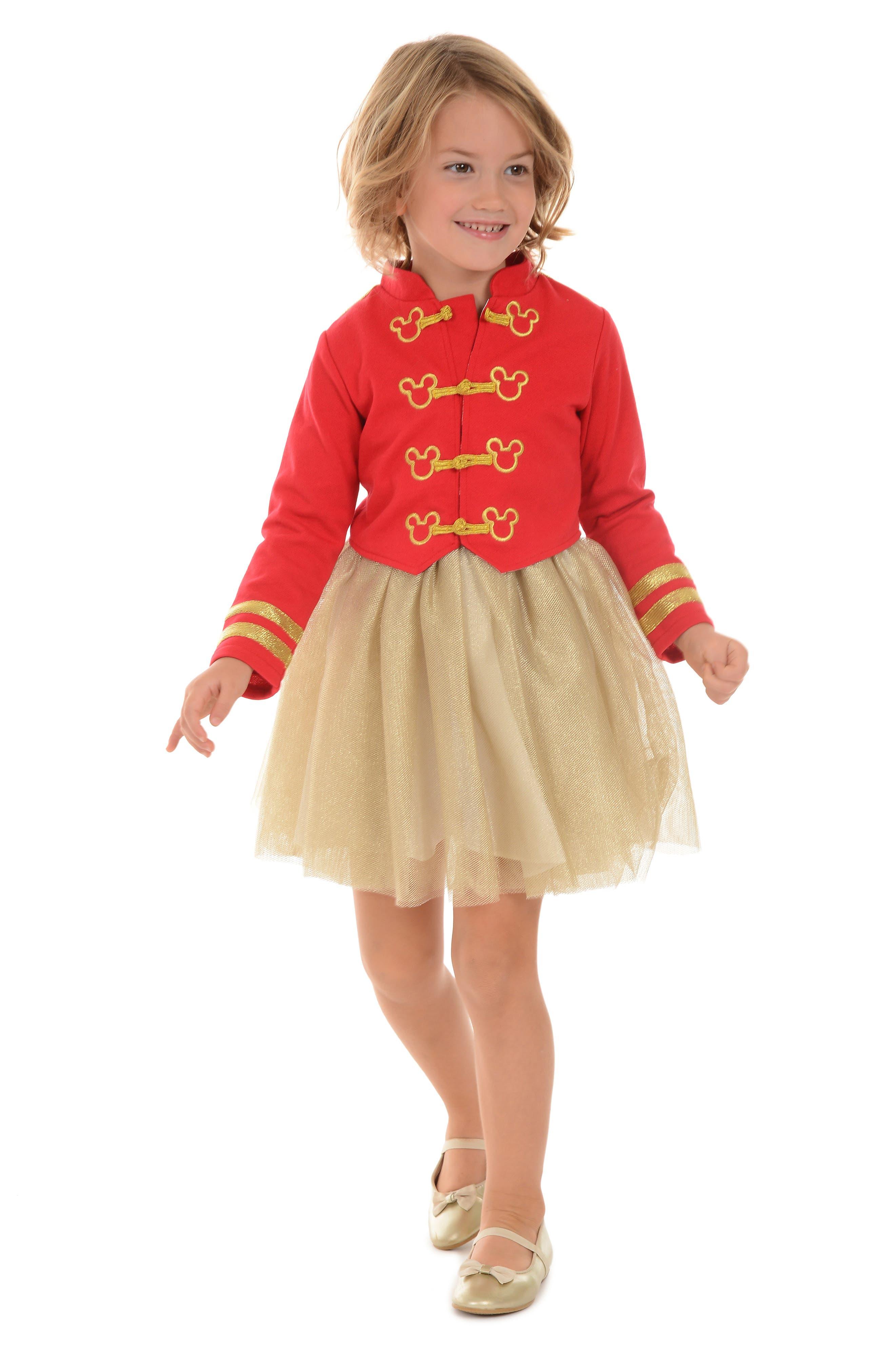 PIPPA & JULIE,                             x Disney<sup>®</sup> Mickey Mouse<sup>®</sup> Majorette Jacket & Tank Dress Set,                             Alternate thumbnail 8, color,                             643