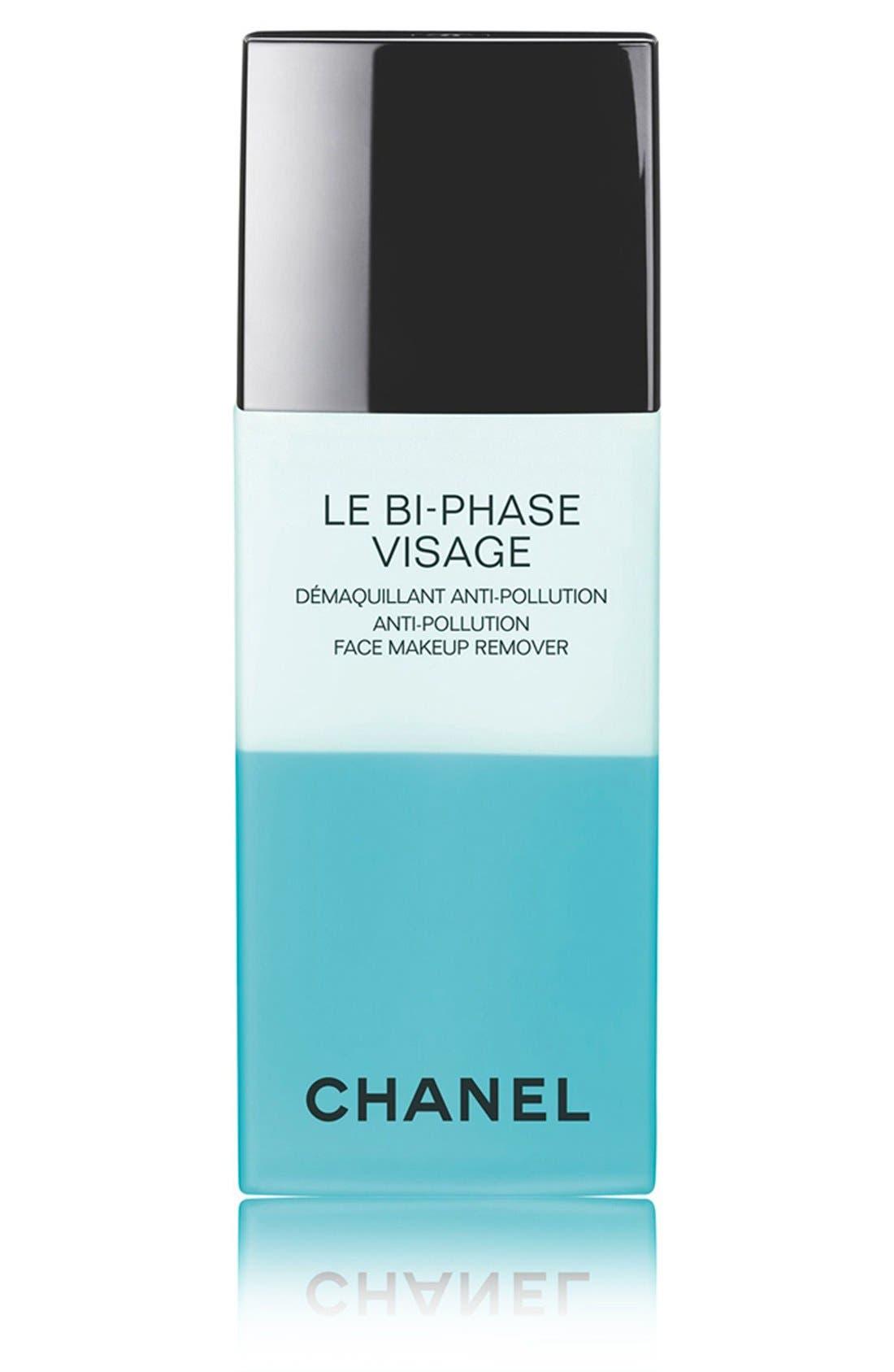 LE BI-PHASE VISAGE<br />Anti-Pollution Face Makeup Remover,                             Main thumbnail 1, color,                             000
