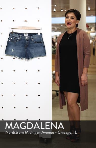 Kenzie Cutoff Denim Shorts, sales video thumbnail