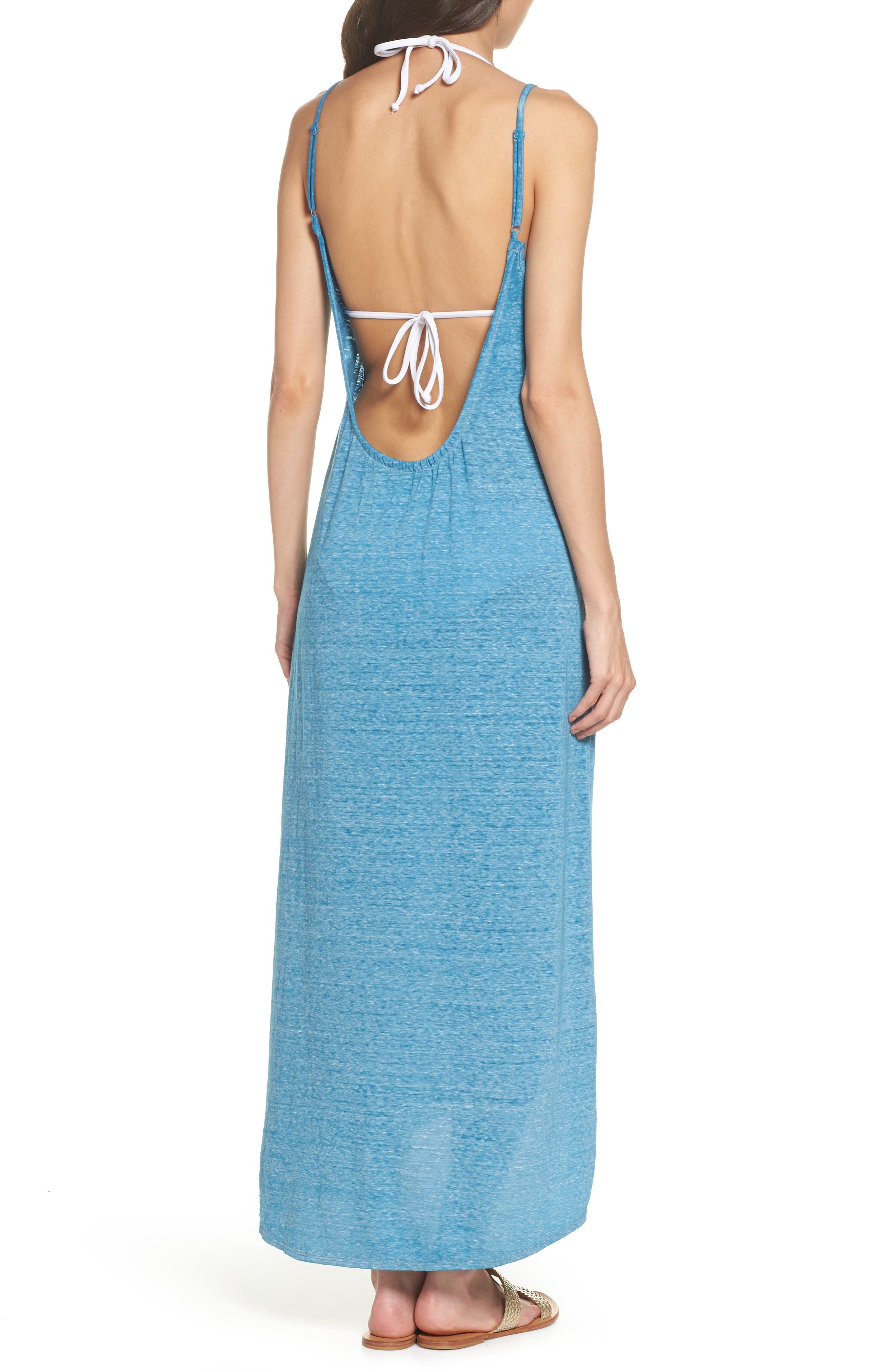 Maxi Cover-Up Dress,                             Alternate thumbnail 10, color,