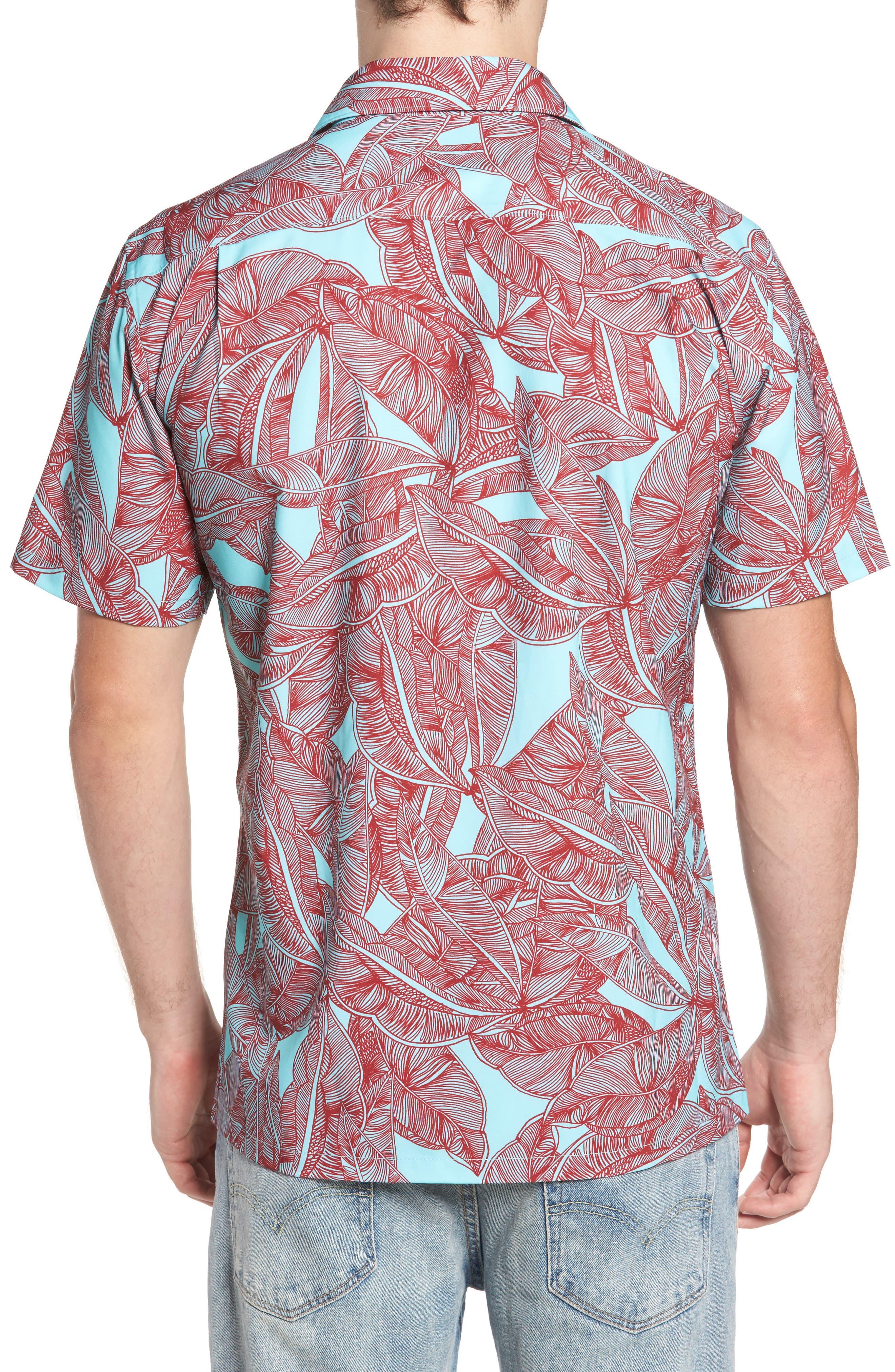 Print Woven Shirt,                             Alternate thumbnail 2, color,                             400