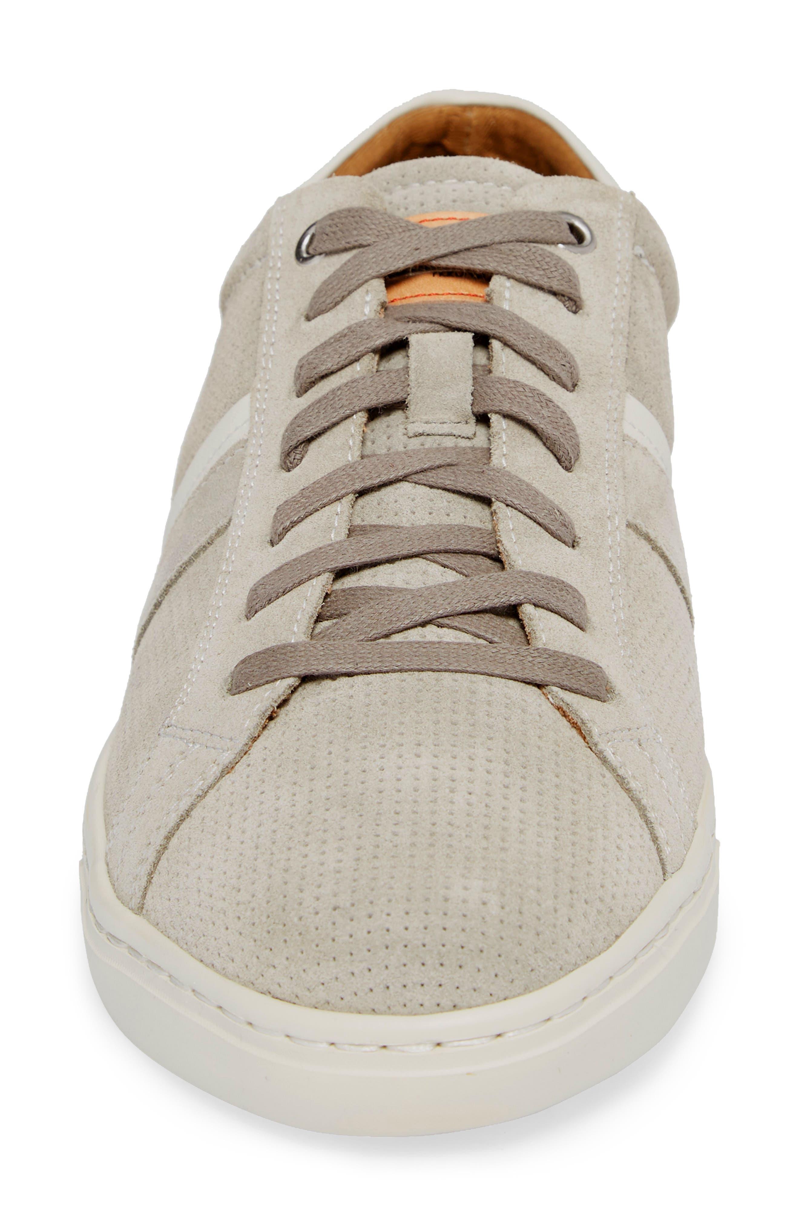 Belfort Perforated Sneaker,                             Alternate thumbnail 4, color,                             020