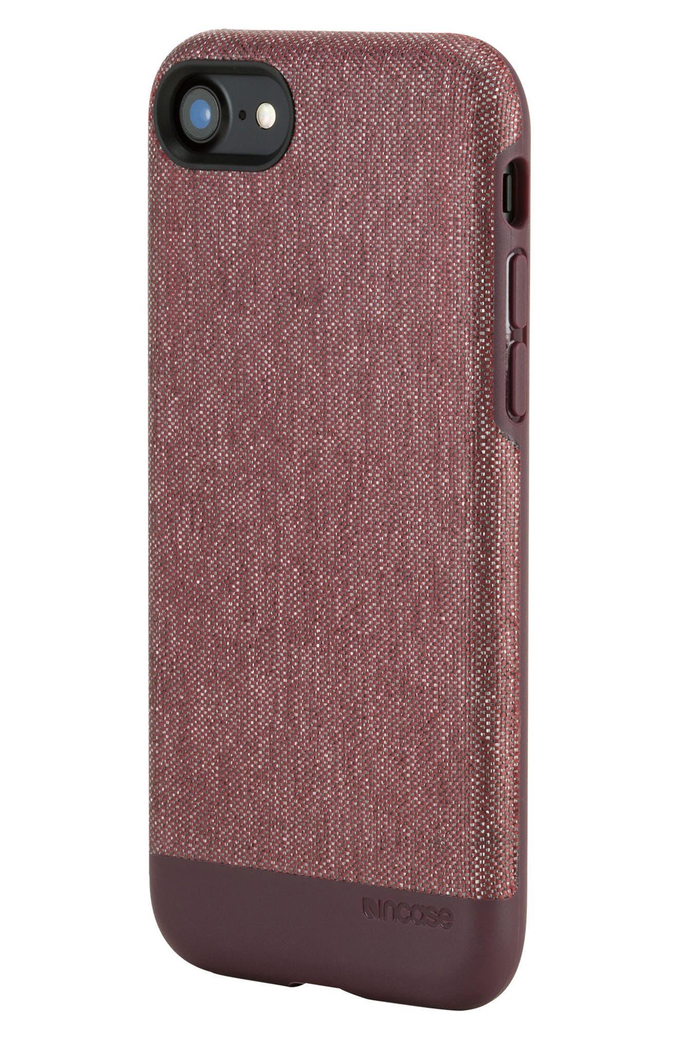 INCASE DESIGNS,                             Textured Snap iPhone 7 & iPhone 8 Case,                             Alternate thumbnail 6, color,                             001