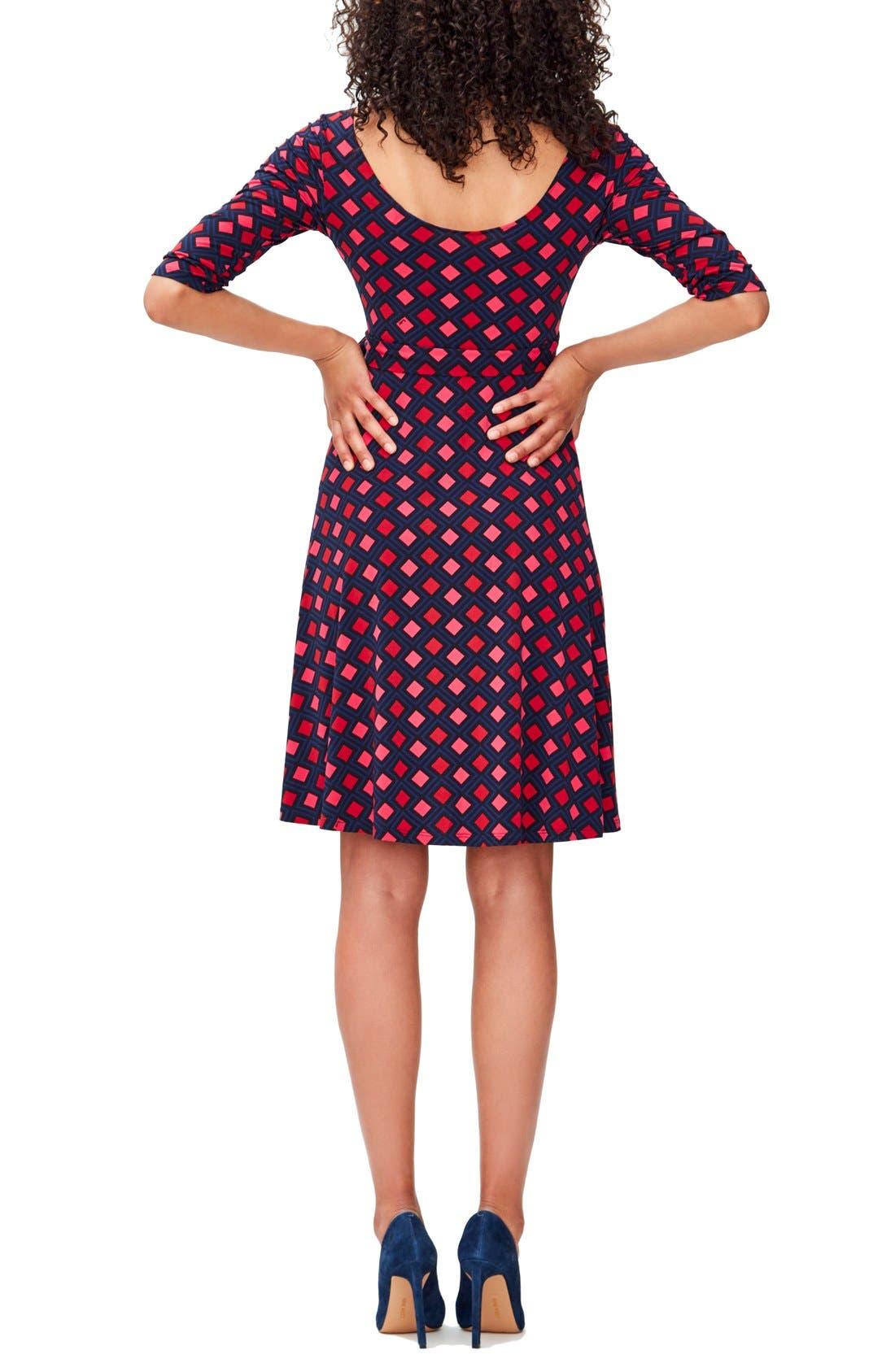 'Ilana' Belted Maternity Dress,                             Alternate thumbnail 29, color,