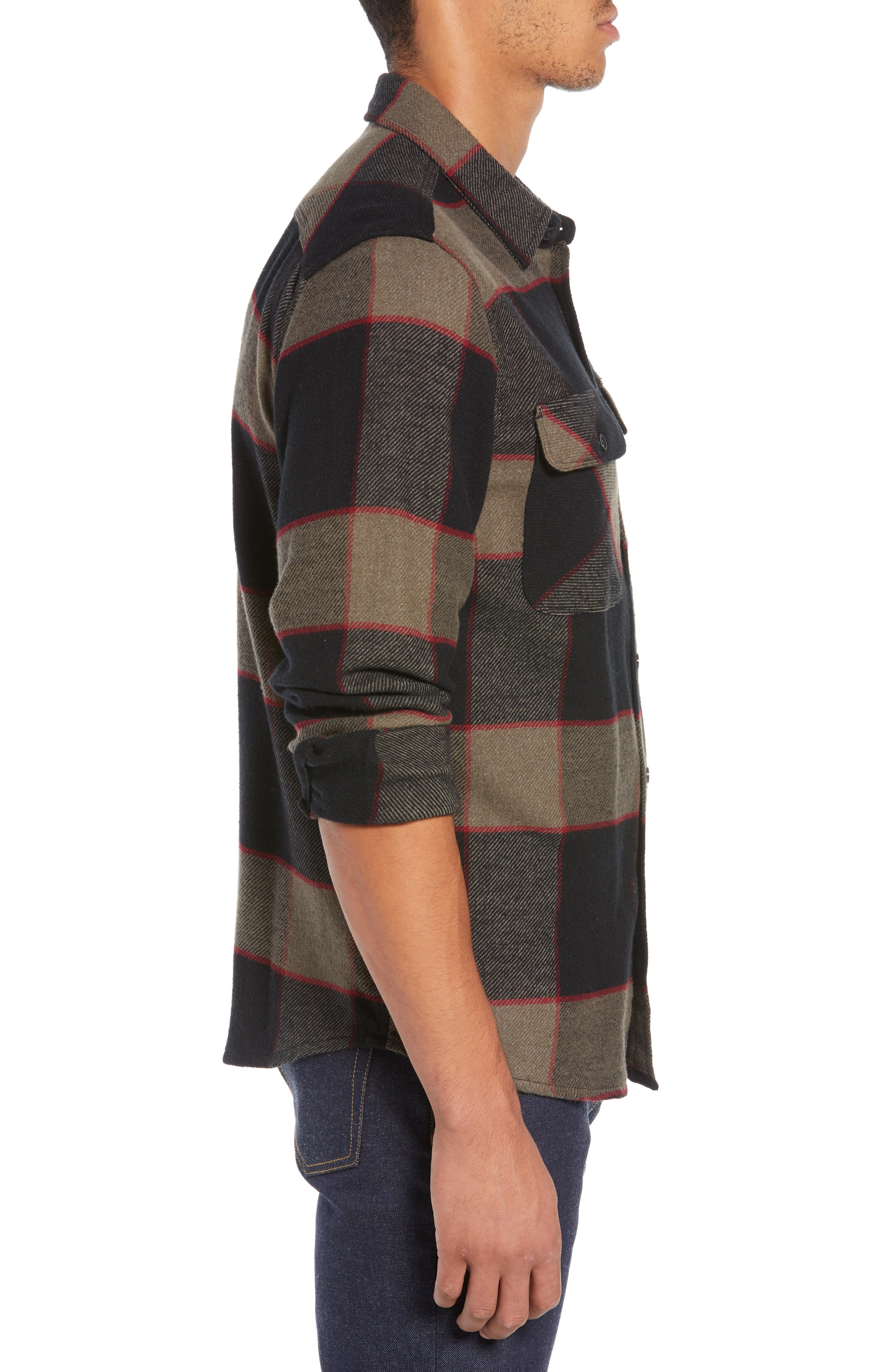 Bowery Flannel Shirt,                             Alternate thumbnail 38, color,