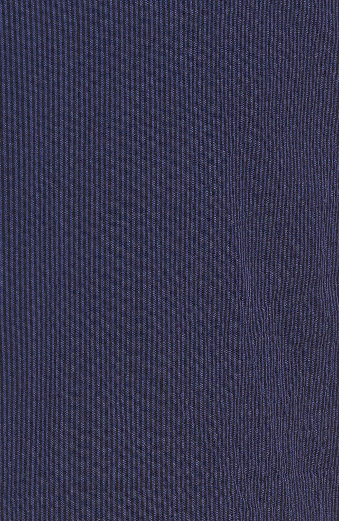 Dagger Flat Front Seersucker Trousers,                             Alternate thumbnail 5, color,                             400