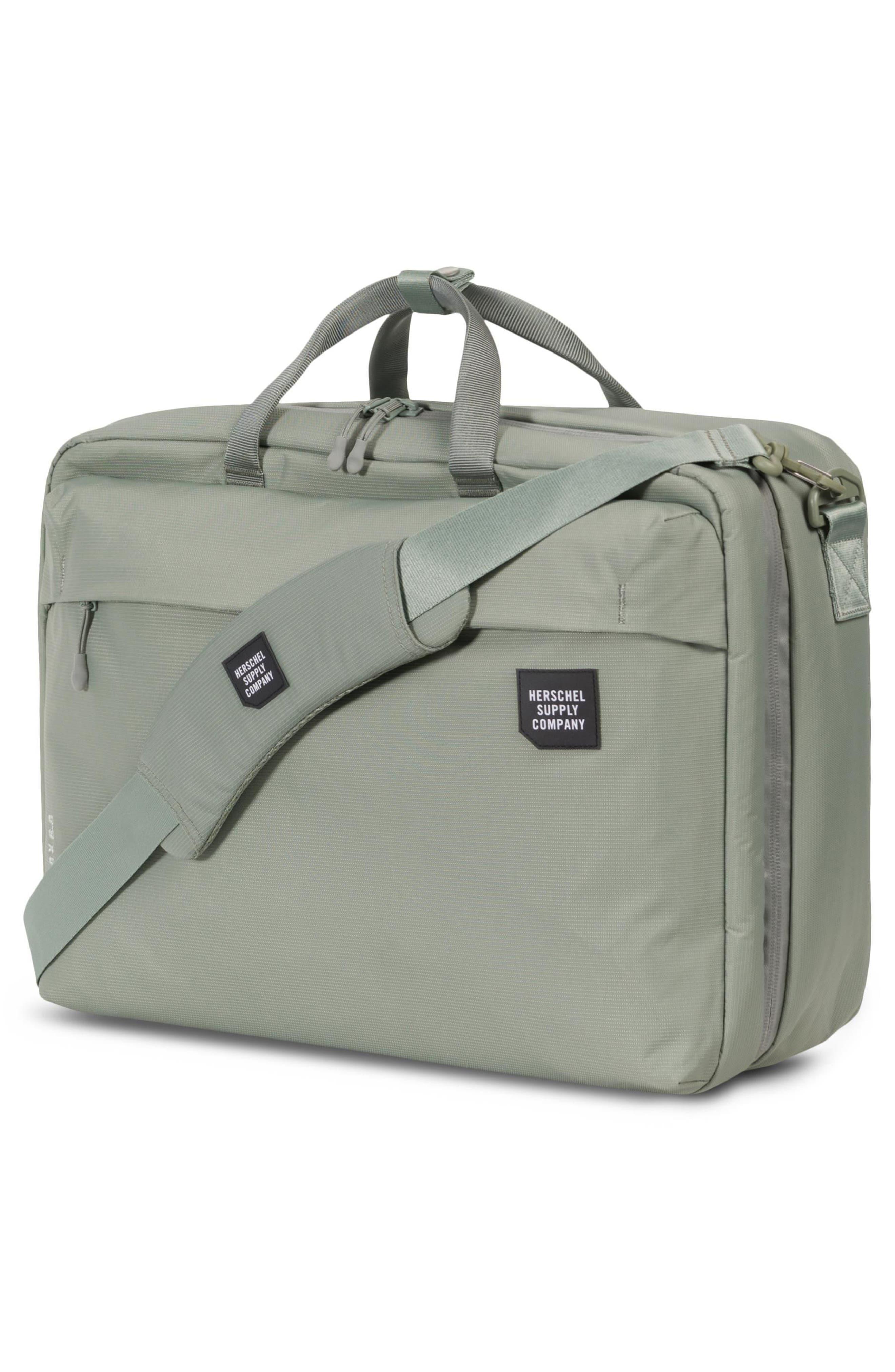 Britannia XL Convertible Messenger Bag,                             Alternate thumbnail 8, color,
