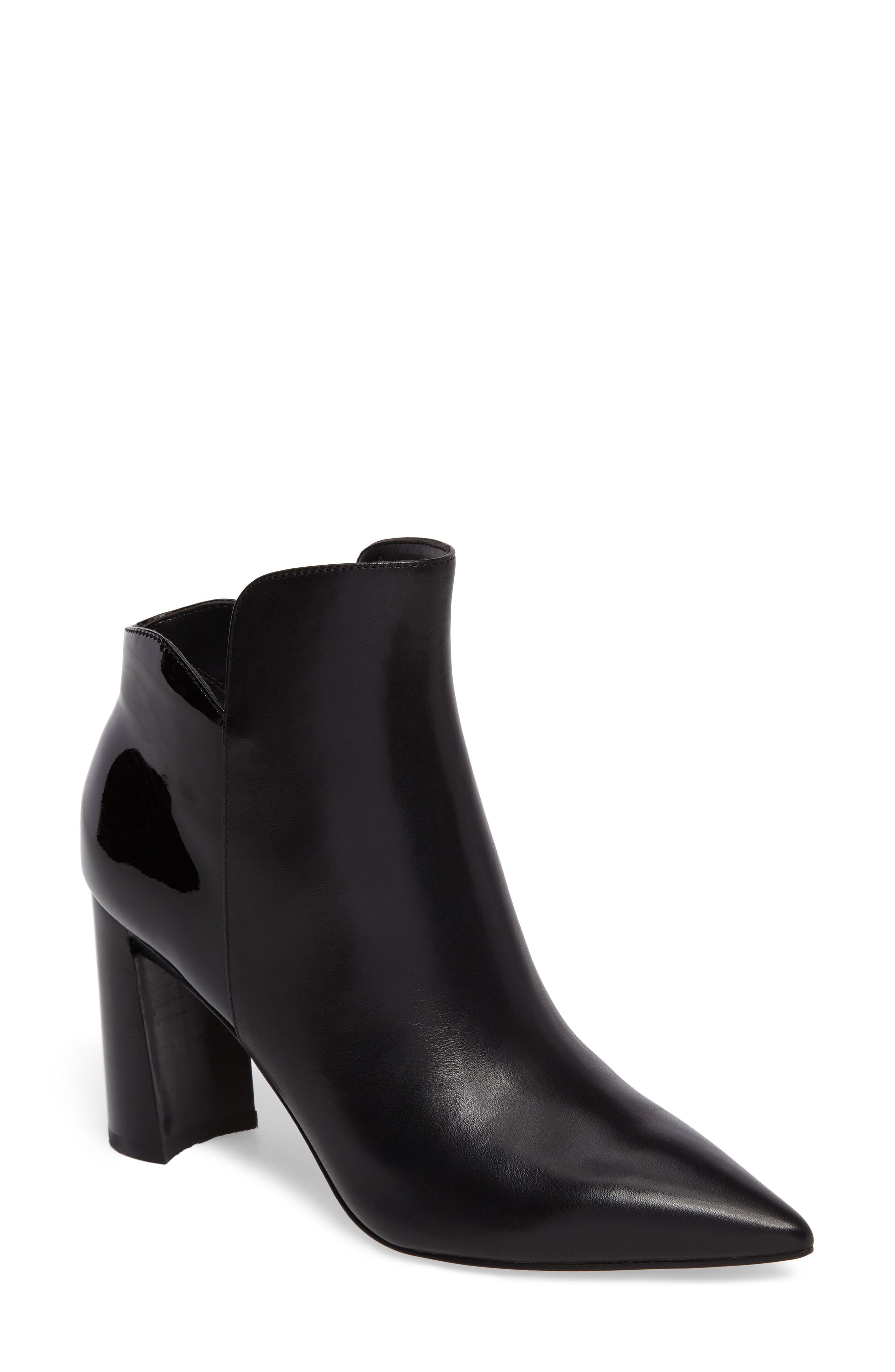 Harper Pointy Toe Bootie,                             Main thumbnail 1, color,                             001