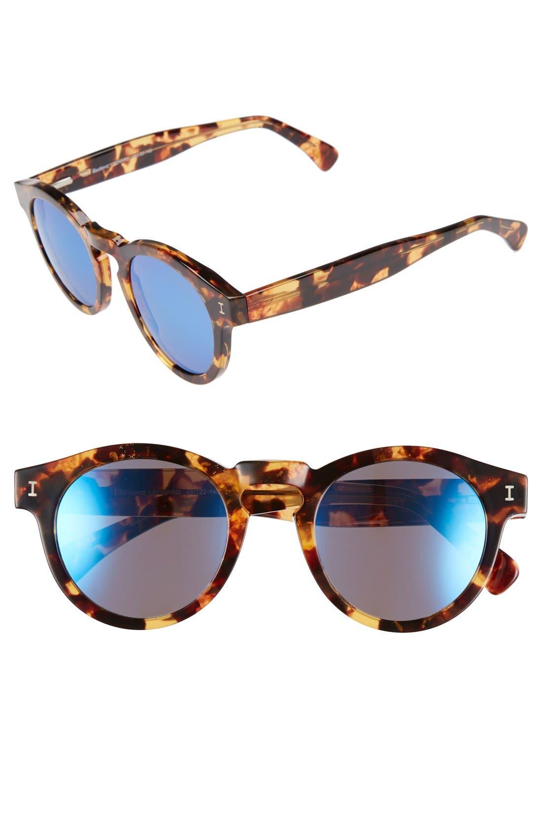 'Leonard' 47mm Sunglasses,                             Main thumbnail 47, color,