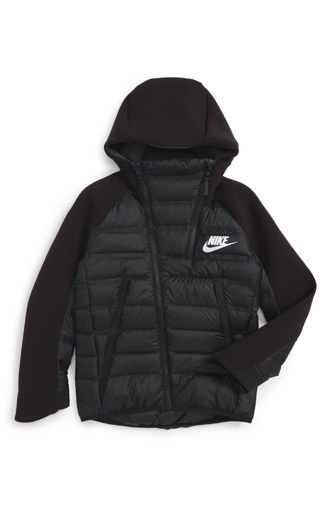 Sportswear Tech Fleece AeroLoft Jacket,                             Main thumbnail 1, color,                             010