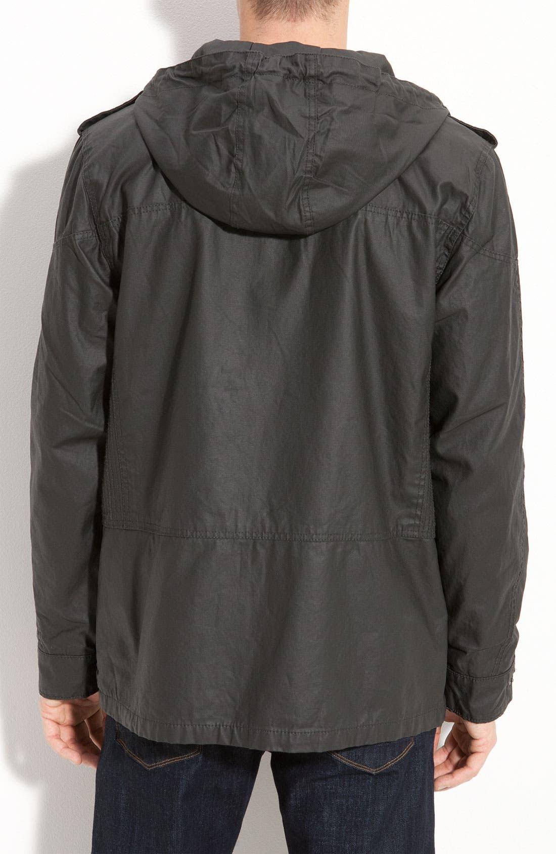 'Covert' Hooded Utility Jacket,                             Alternate thumbnail 3, color,                             001
