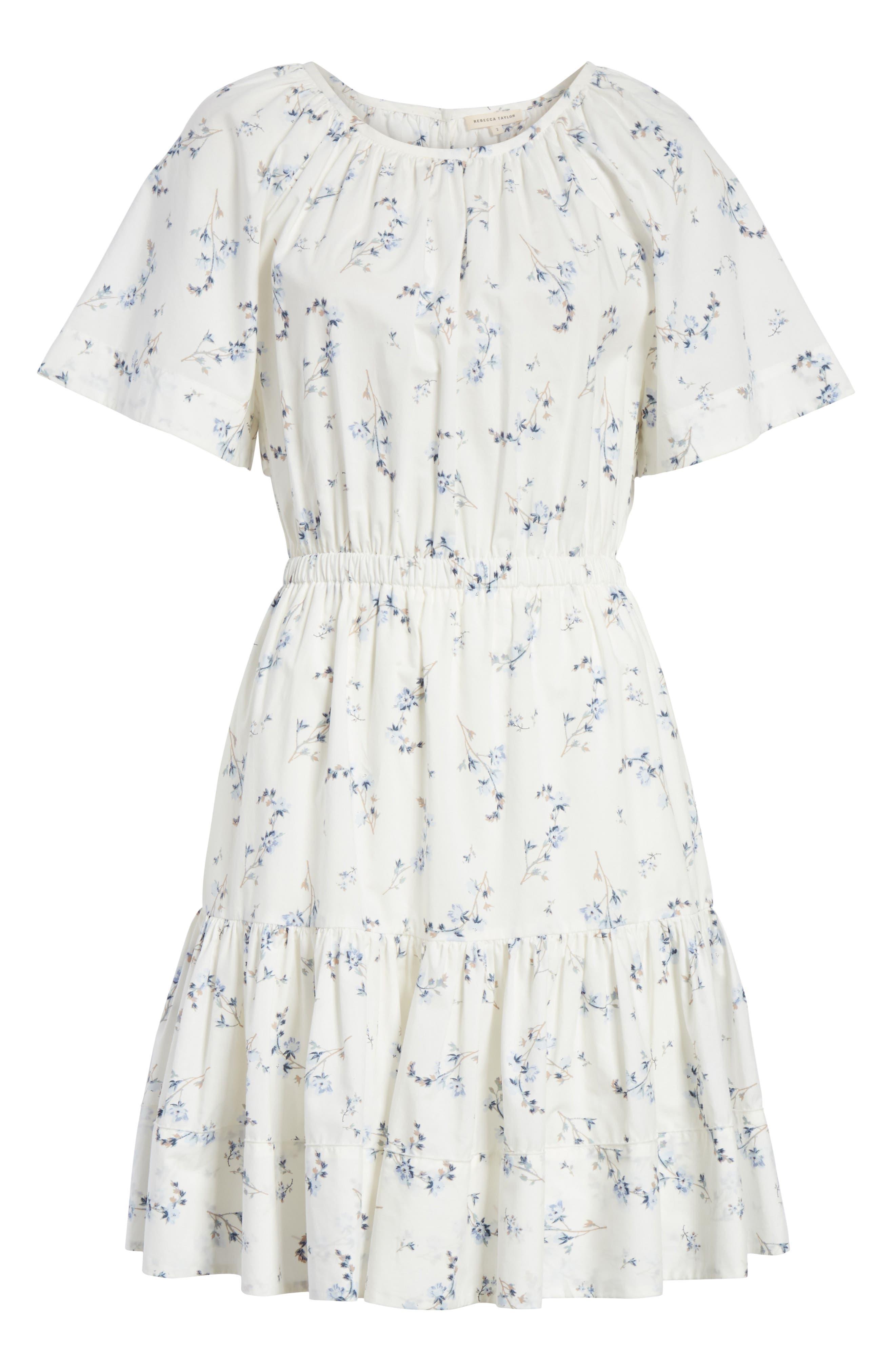 Francine Back Cutout Mini Dress,                             Alternate thumbnail 6, color,                             103