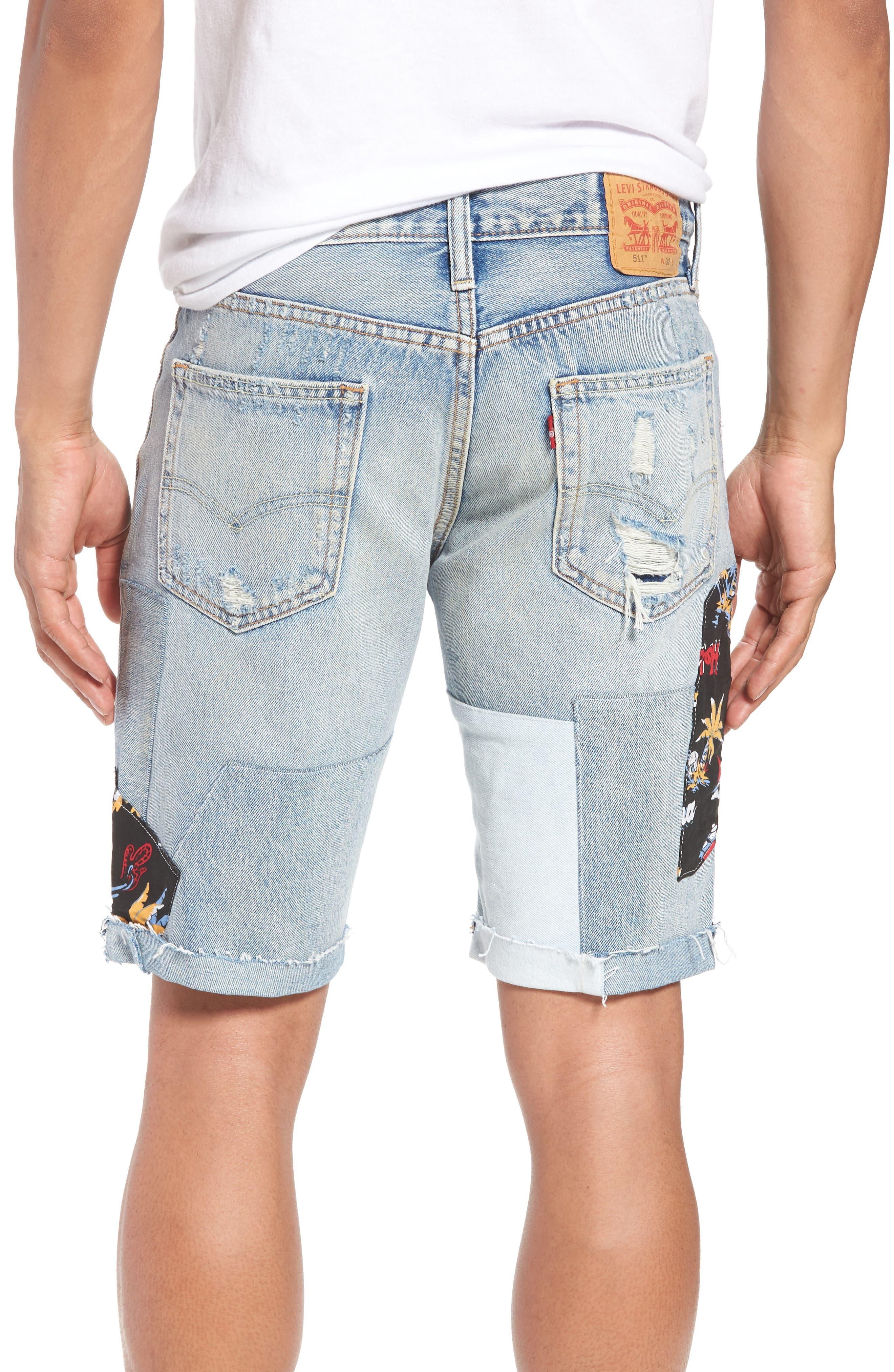 511<sup>®</sup> Cutoff Denim Shorts,                             Alternate thumbnail 2, color,                             420