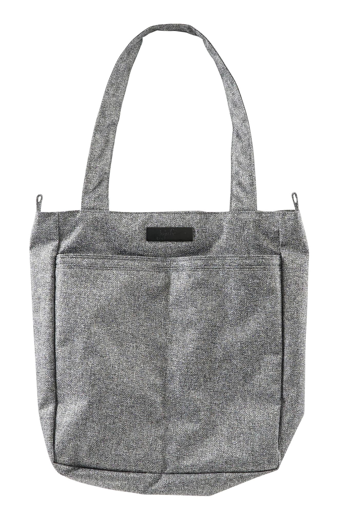 'Be Light - Onyx Collection' Diaper Bag,                         Main,                         color, GRAY MATTER