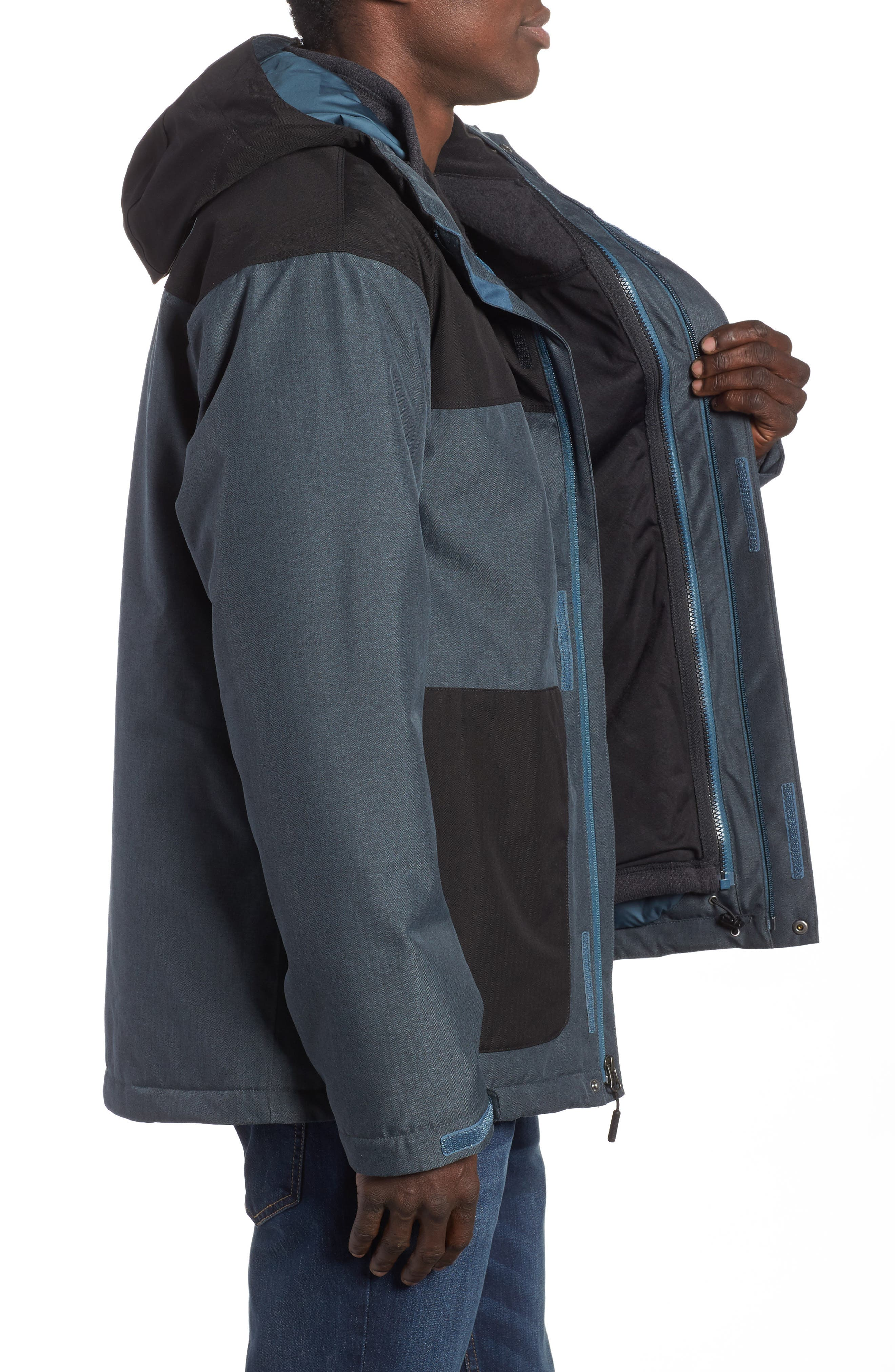 Fordyce TriClimate<sup>®</sup> 3-in-1 Waterproof Jacket,                             Alternate thumbnail 6, color,