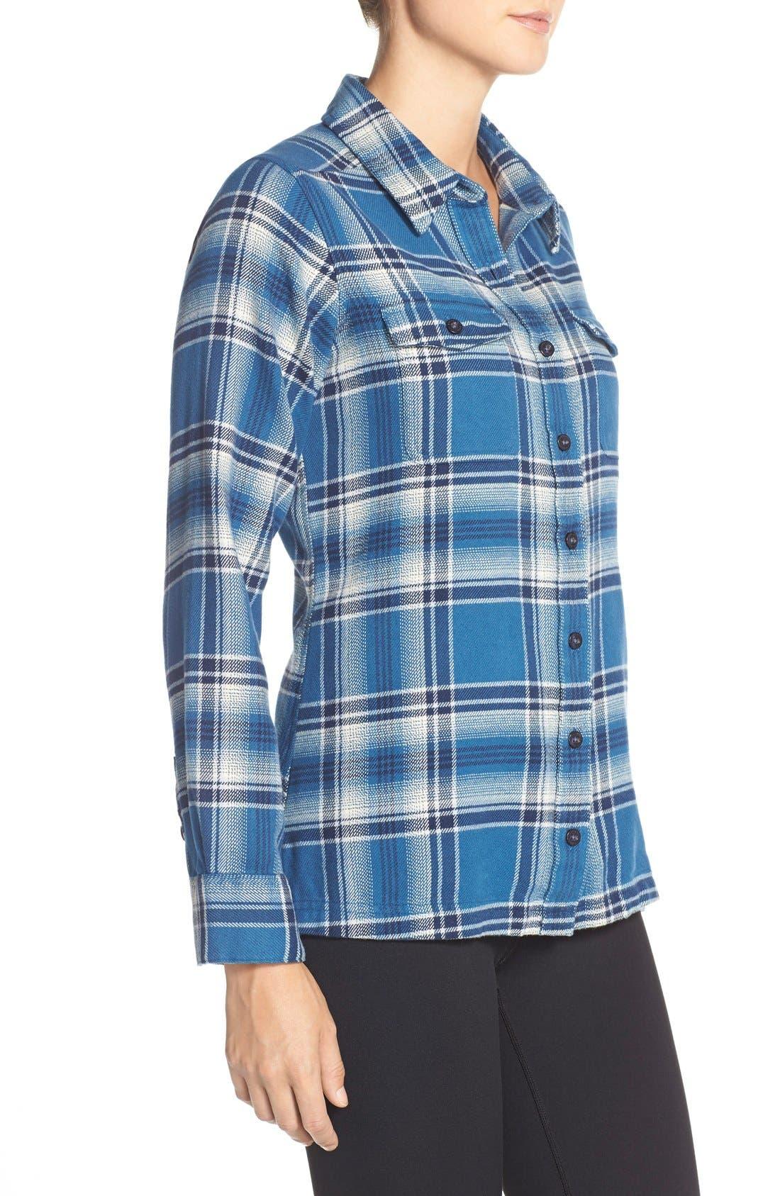 'Fjord' Flannel Shirt,                             Alternate thumbnail 82, color,