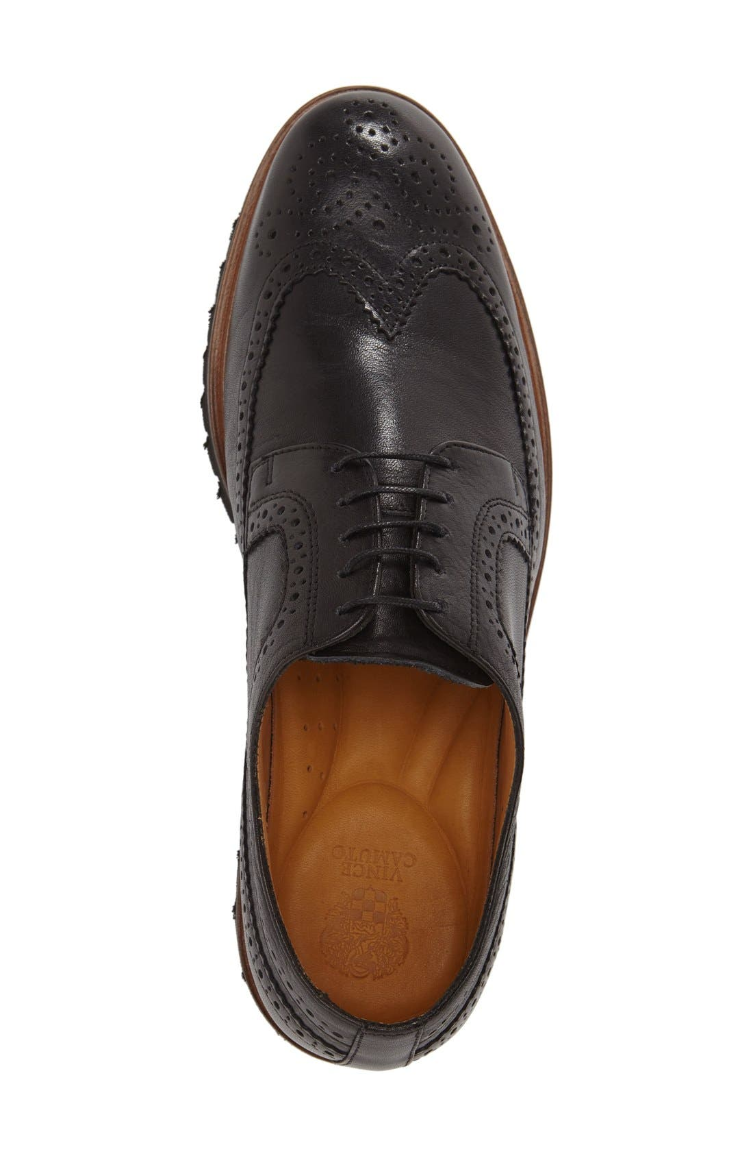 'Loven' Wingtip Derby,                             Alternate thumbnail 3, color,                             001