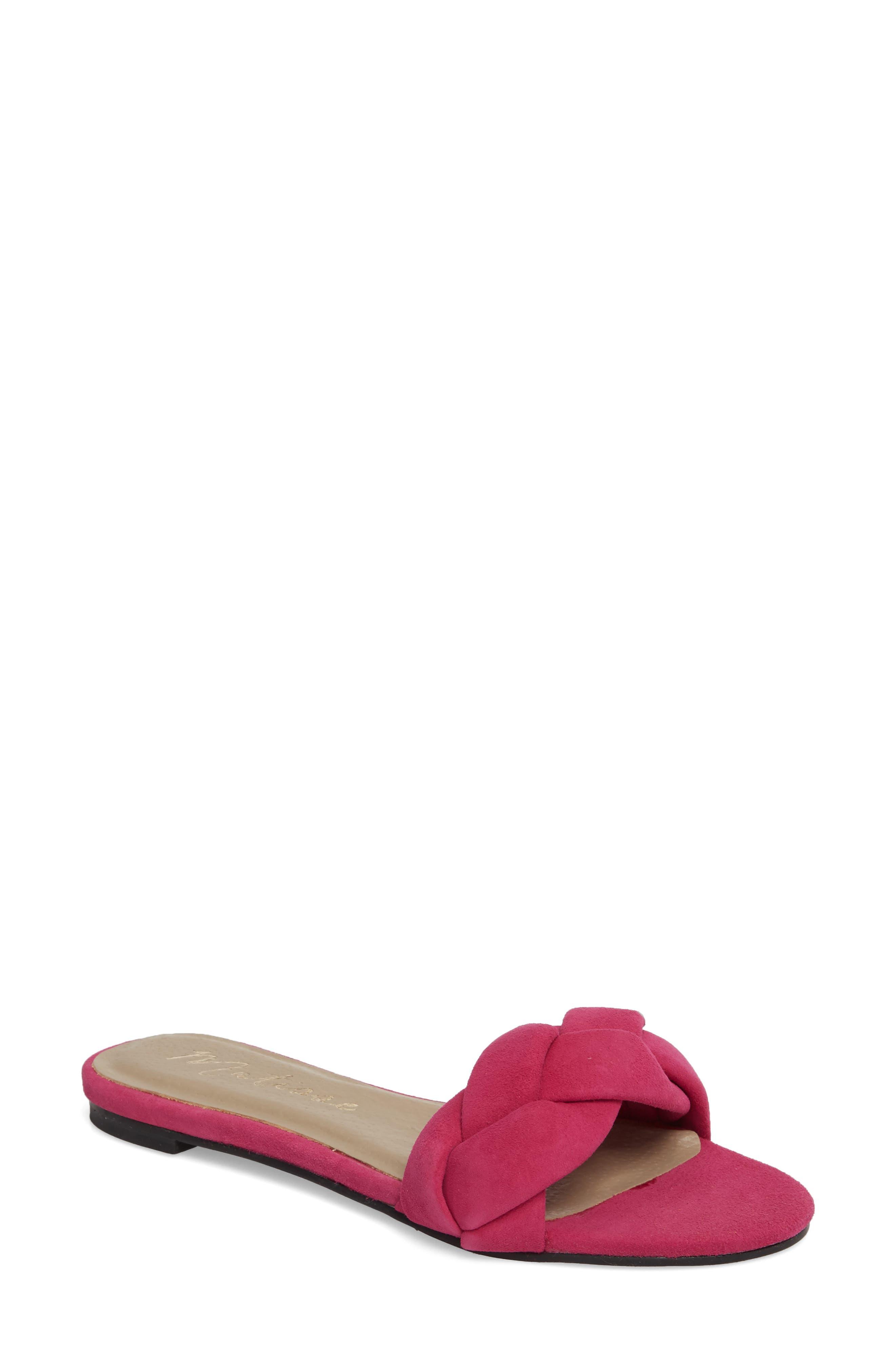 Matisse Georgie Slide Sandal, Pink