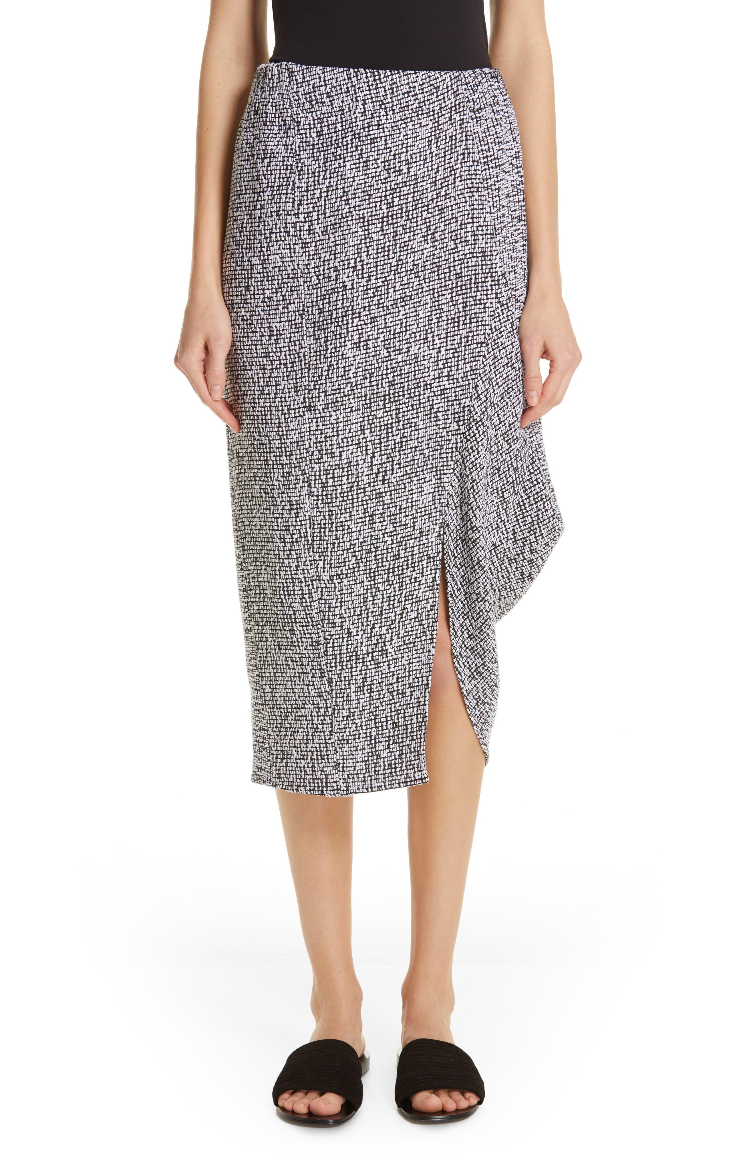 Mio Skirt,                             Main thumbnail 1, color,                             WHITE/ BLACK