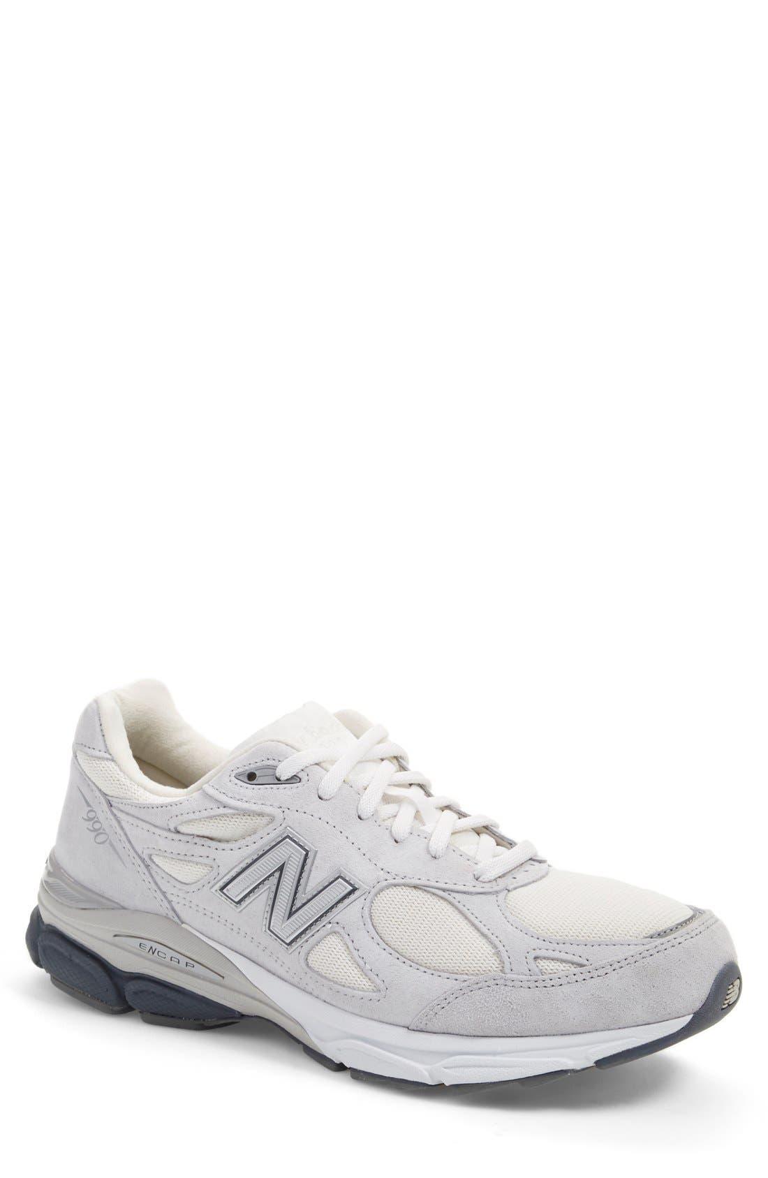 '990v3' Running Shoe, Main, color, 020