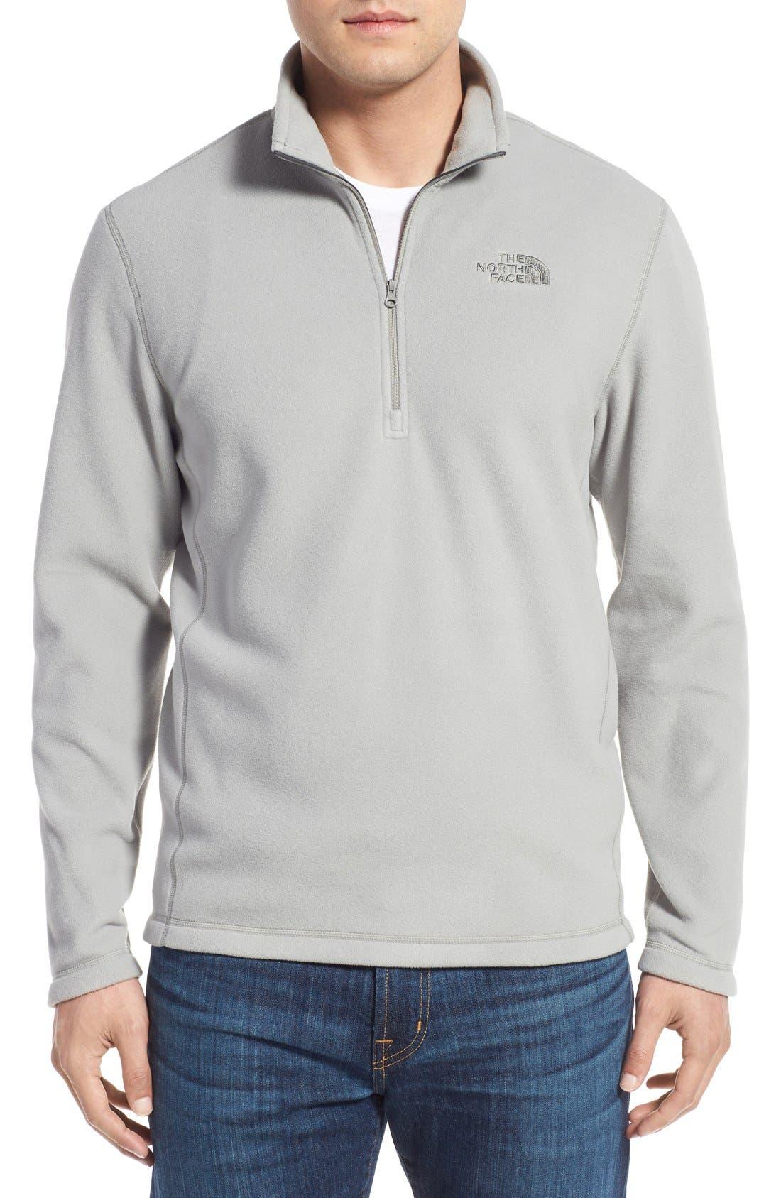 'TKA 100 Glacier' Quarter Zip Fleece Pullover,                             Main thumbnail 23, color,