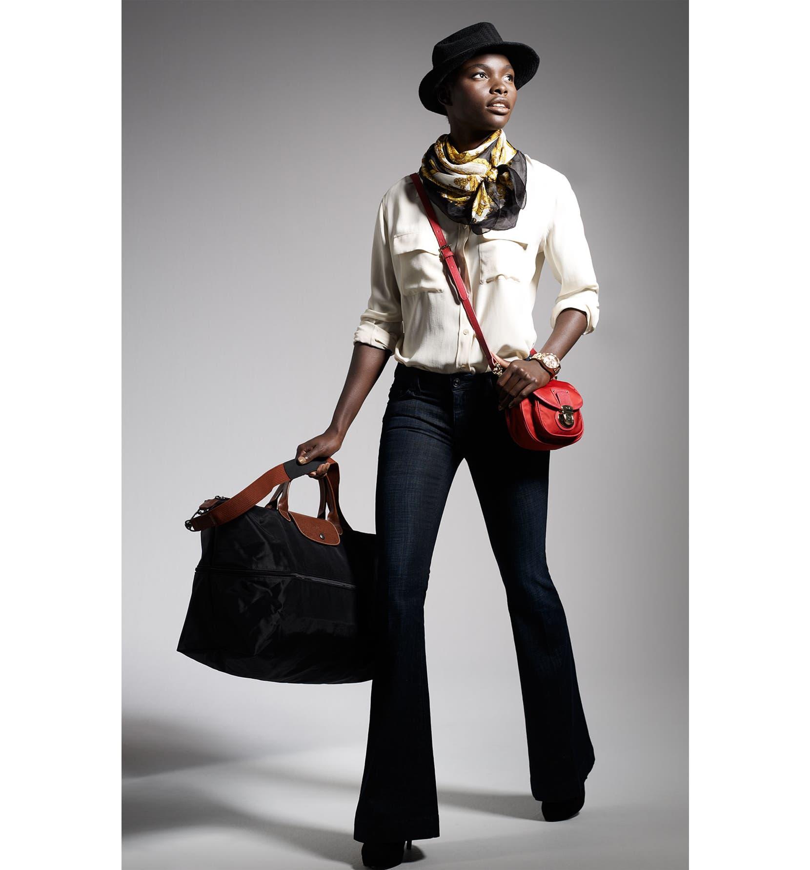 94f57b632642 Longchamp Le Pliage 21-Inch Expandable Travel Bag