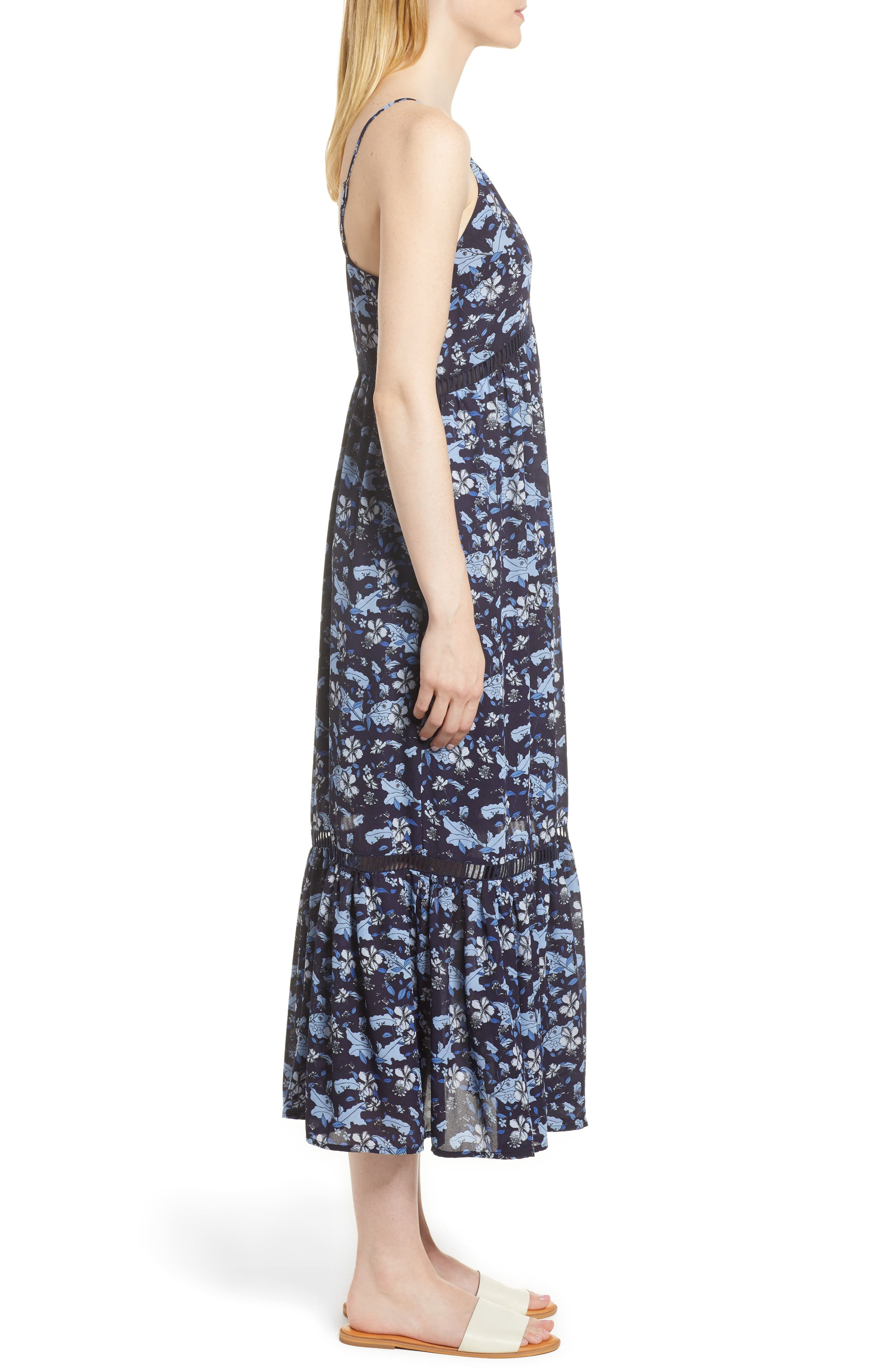 Ivy Forest Maxi Dress,                             Alternate thumbnail 8, color,