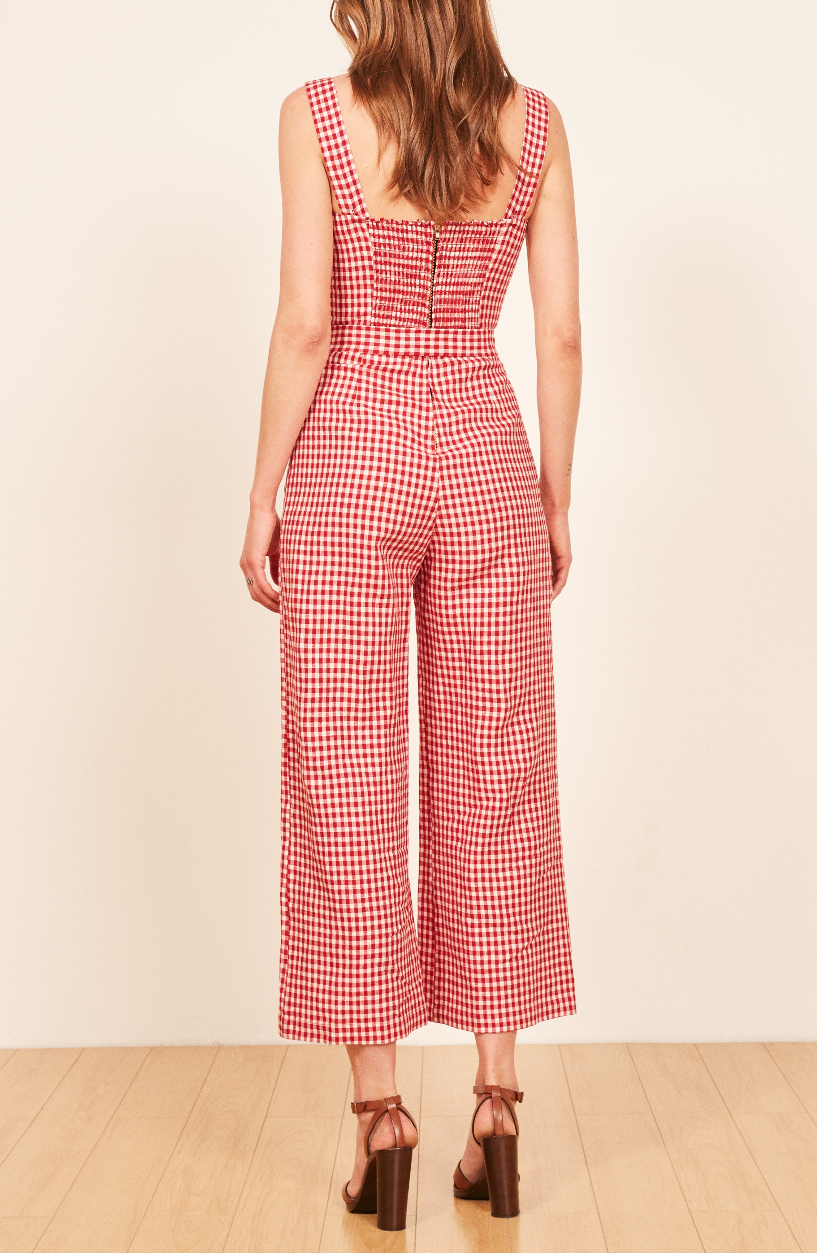 Birch Jumpsuit,                             Alternate thumbnail 3, color,                             MAY CHECK