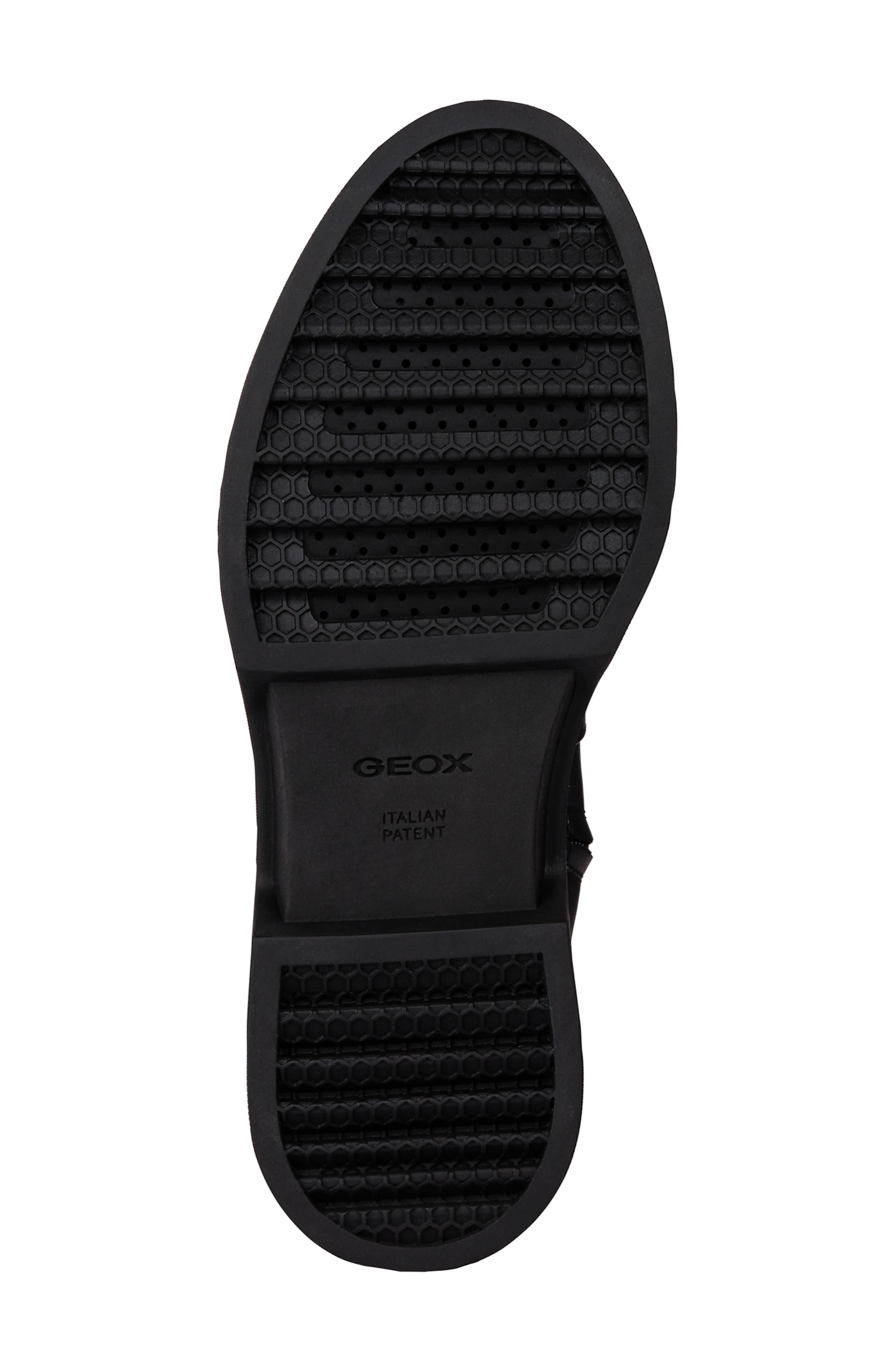 Myluse Knee High Platform Waterproof Boot,                             Alternate thumbnail 5, color,                             BLACK LEATHER
