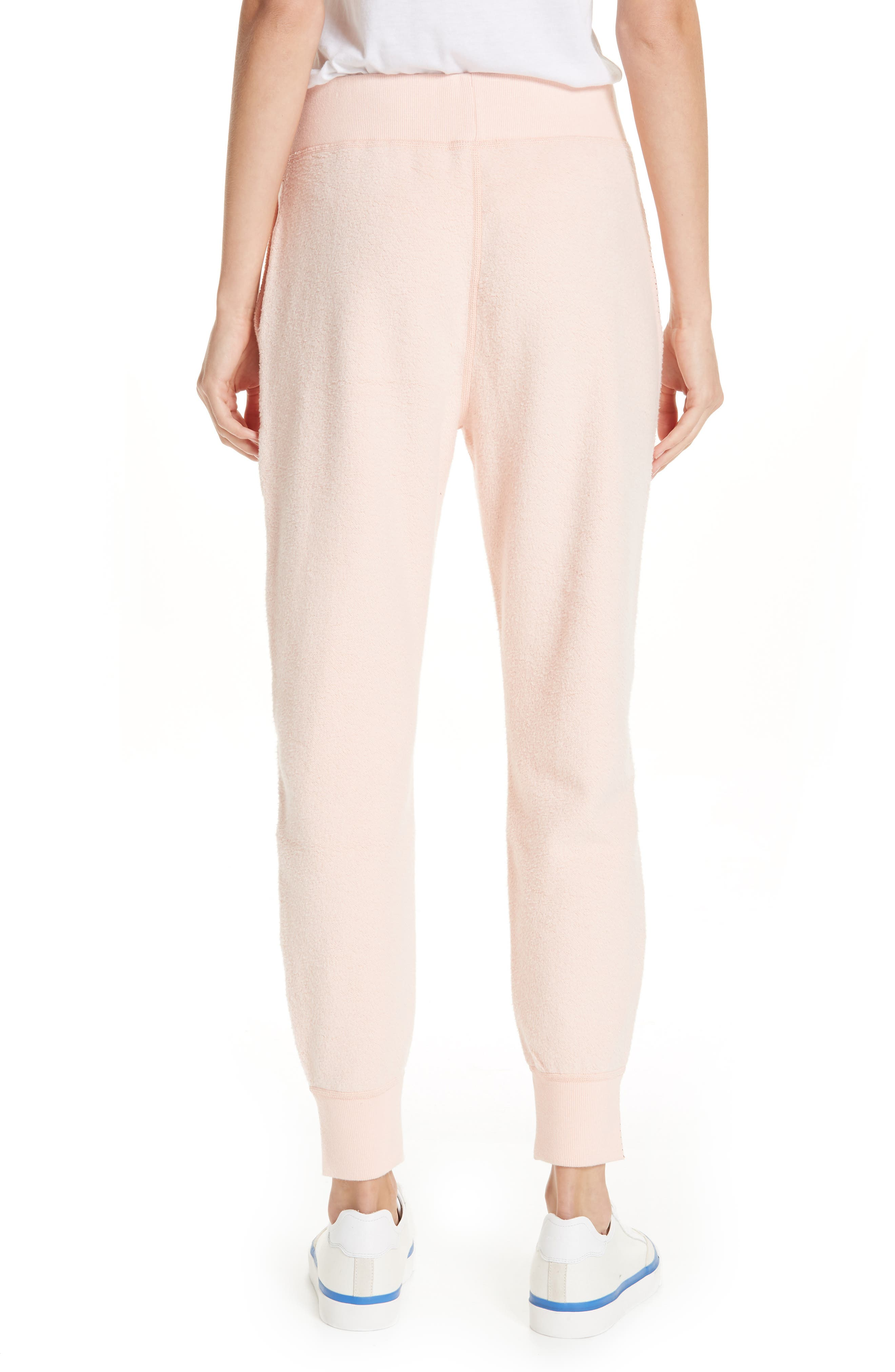 rag & bone Inside Out Brushed Terry Pants,                             Alternate thumbnail 2, color,                             666
