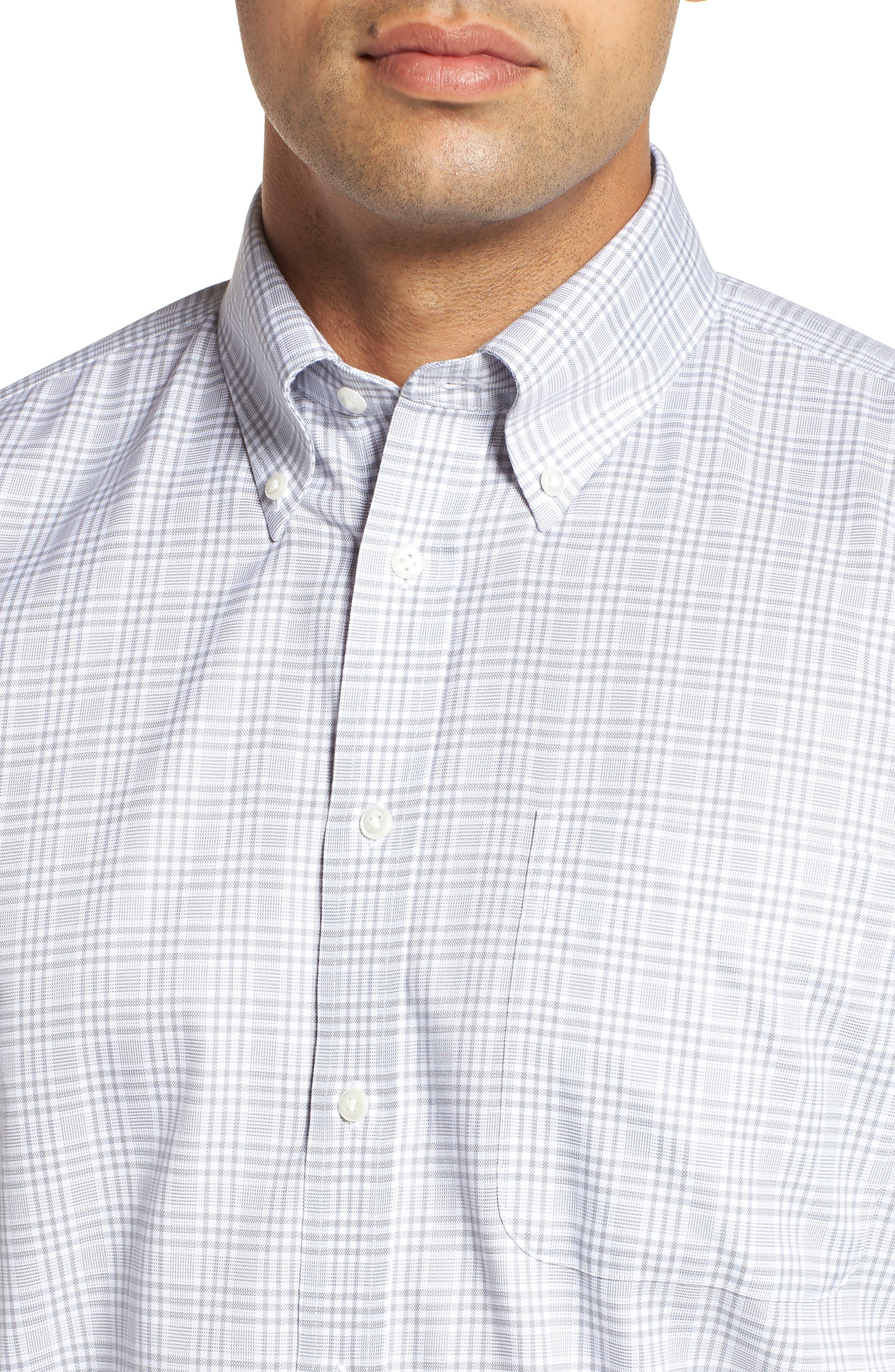 Smartcare<sup>™</sup> Classic Fit Plaid Dress Shirt,                             Alternate thumbnail 2, color,                             050