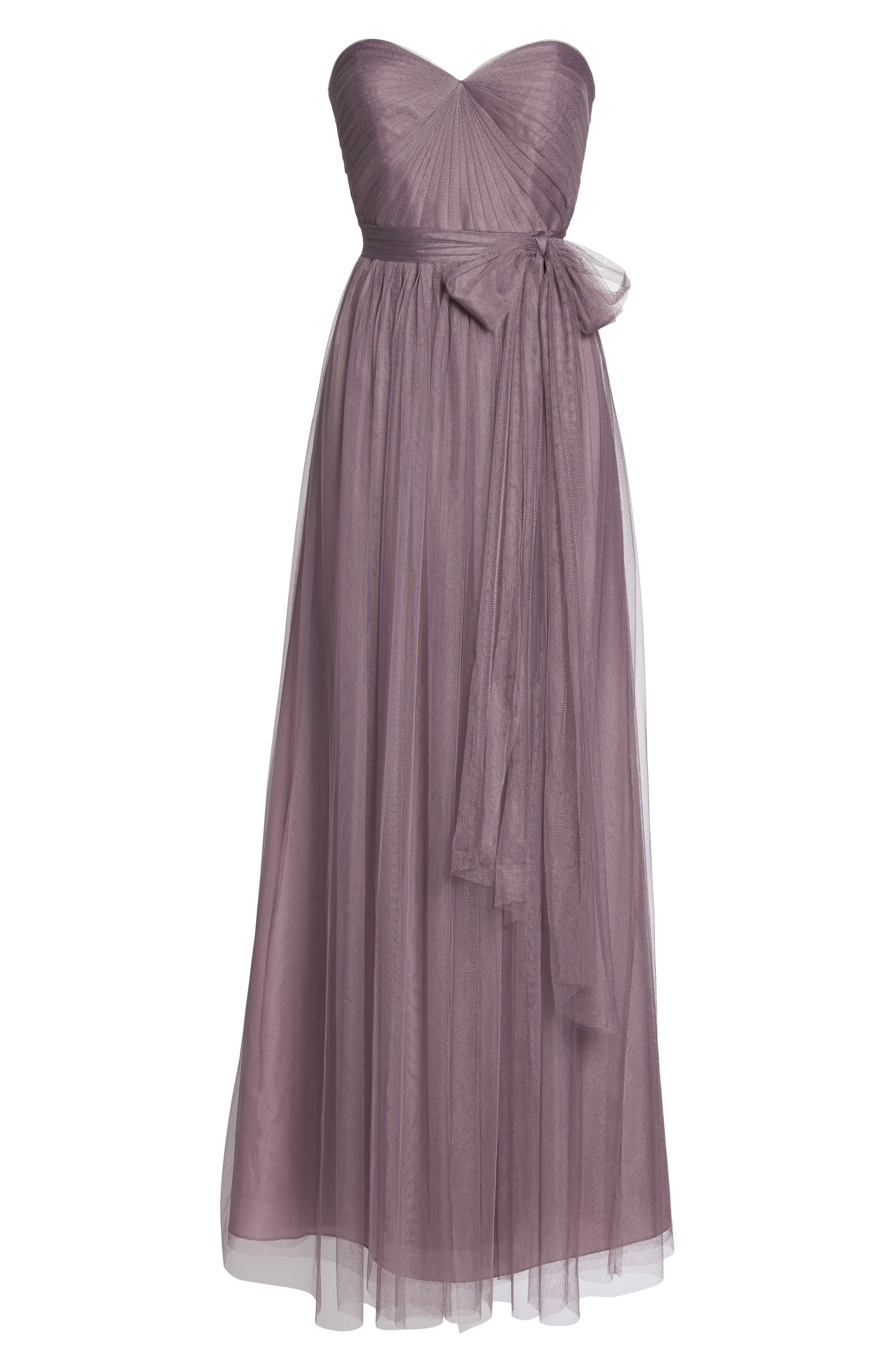 Annabelle Convertible Tulle Column Dress,                             Alternate thumbnail 167, color,