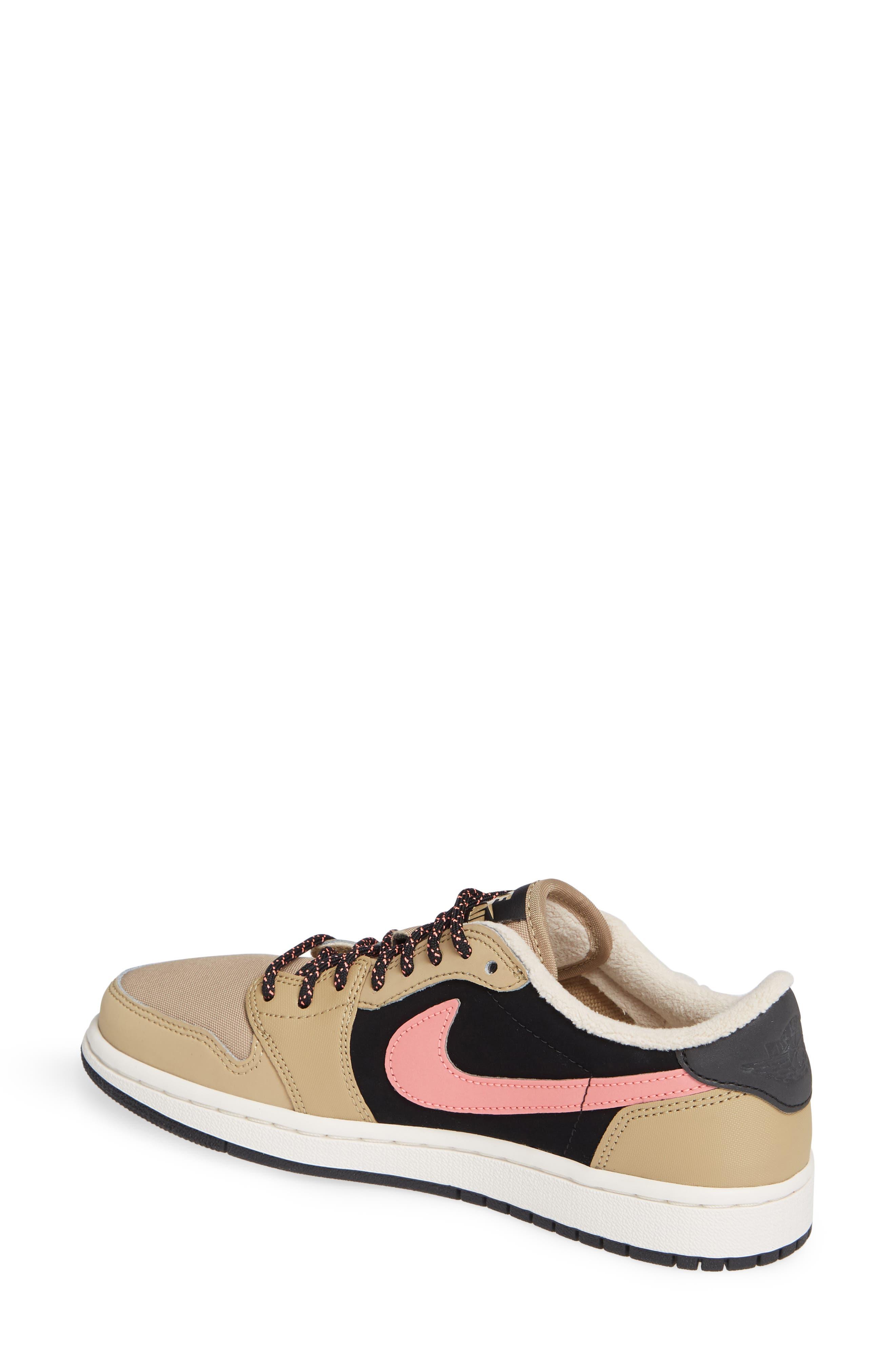 NIKE,                             Air Jordan 1 Retro Low OG Sneaker,                             Alternate thumbnail 2, color,                             200