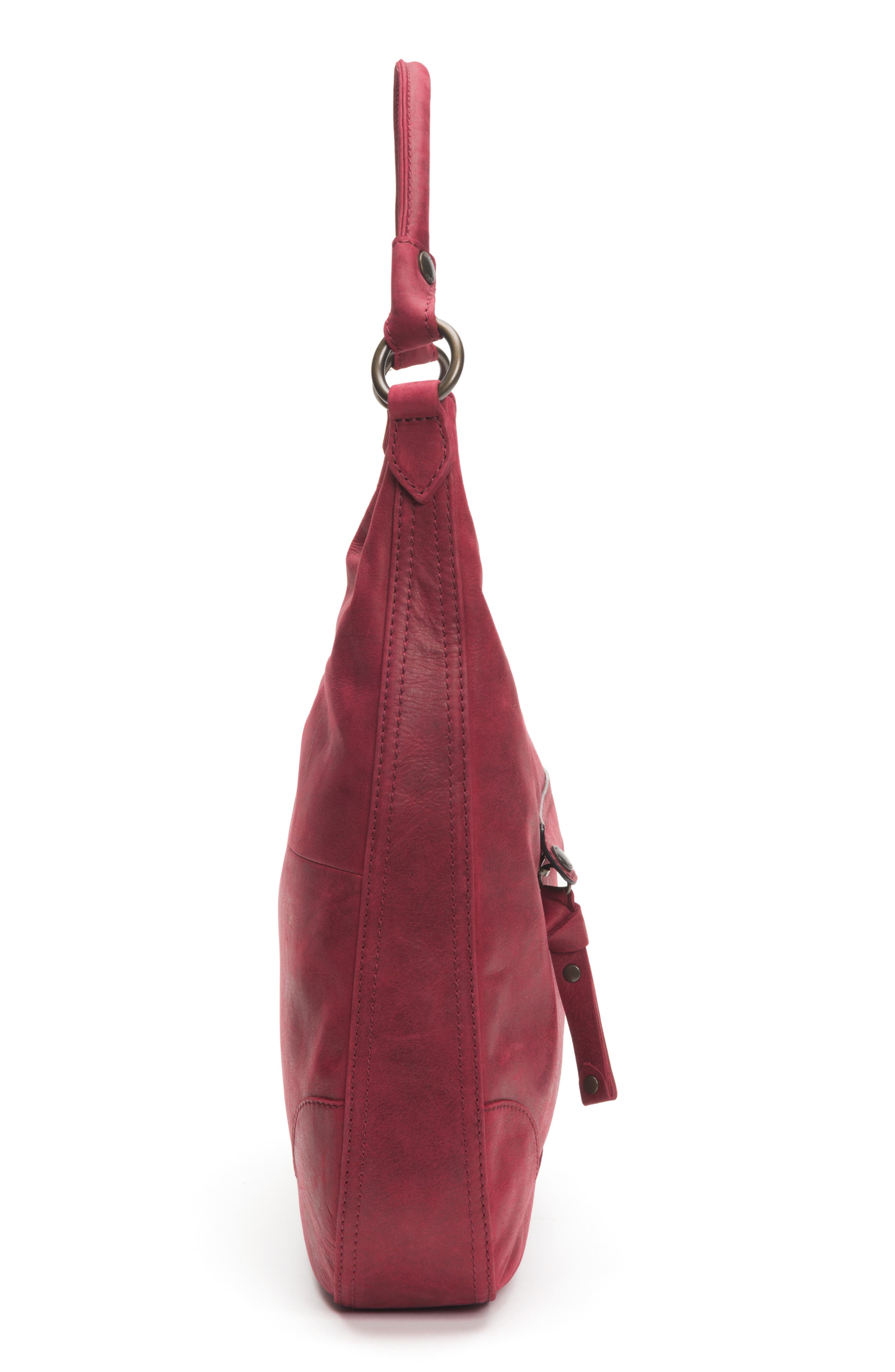 Melissa Large Leather Hobo,                             Alternate thumbnail 5, color,                             604