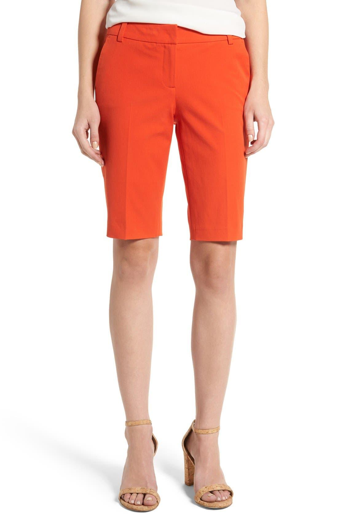 Stretch Bermuda Shorts,                             Main thumbnail 9, color,
