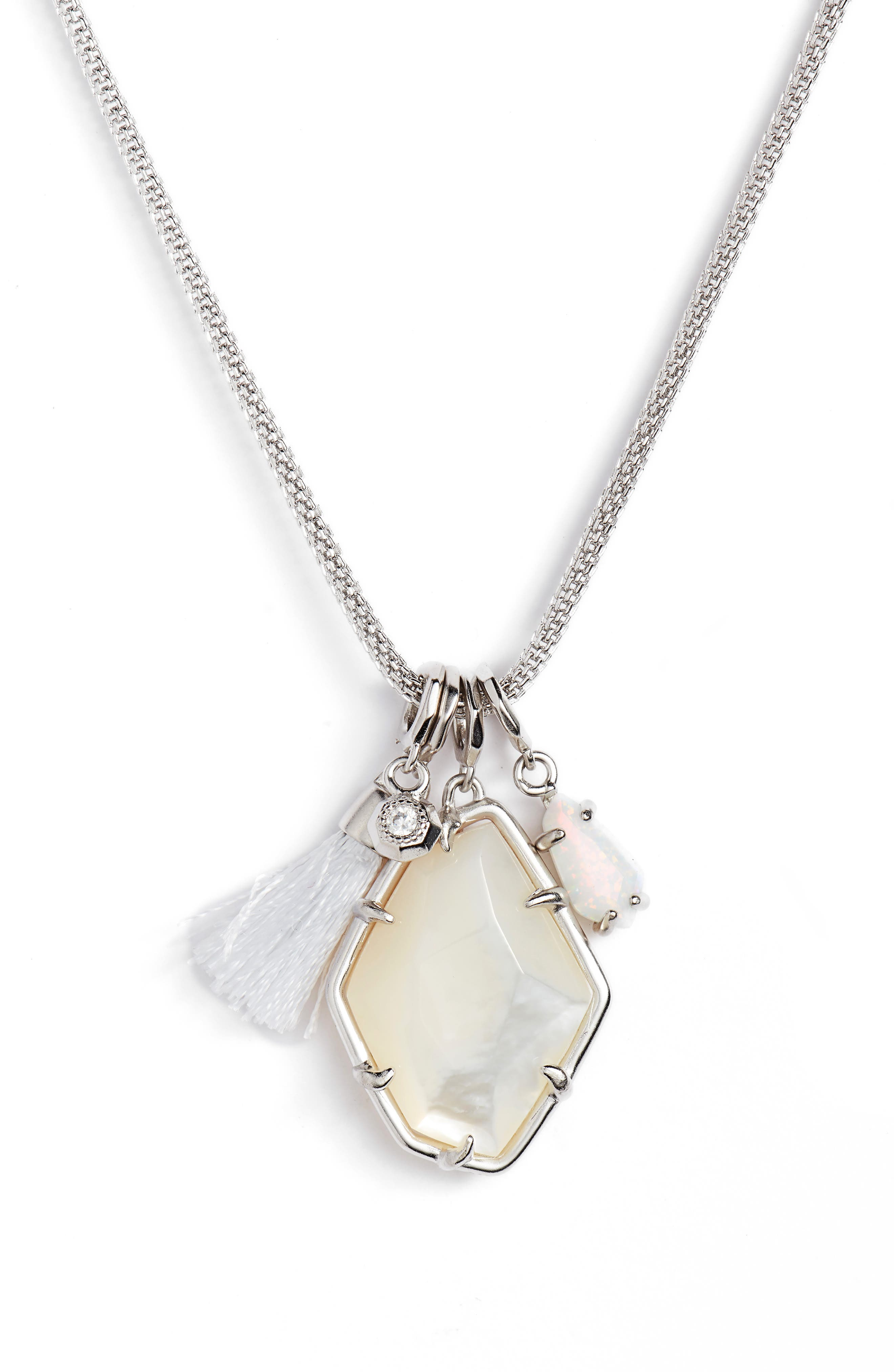 Hailey Necklace,                         Main,                         color, 100