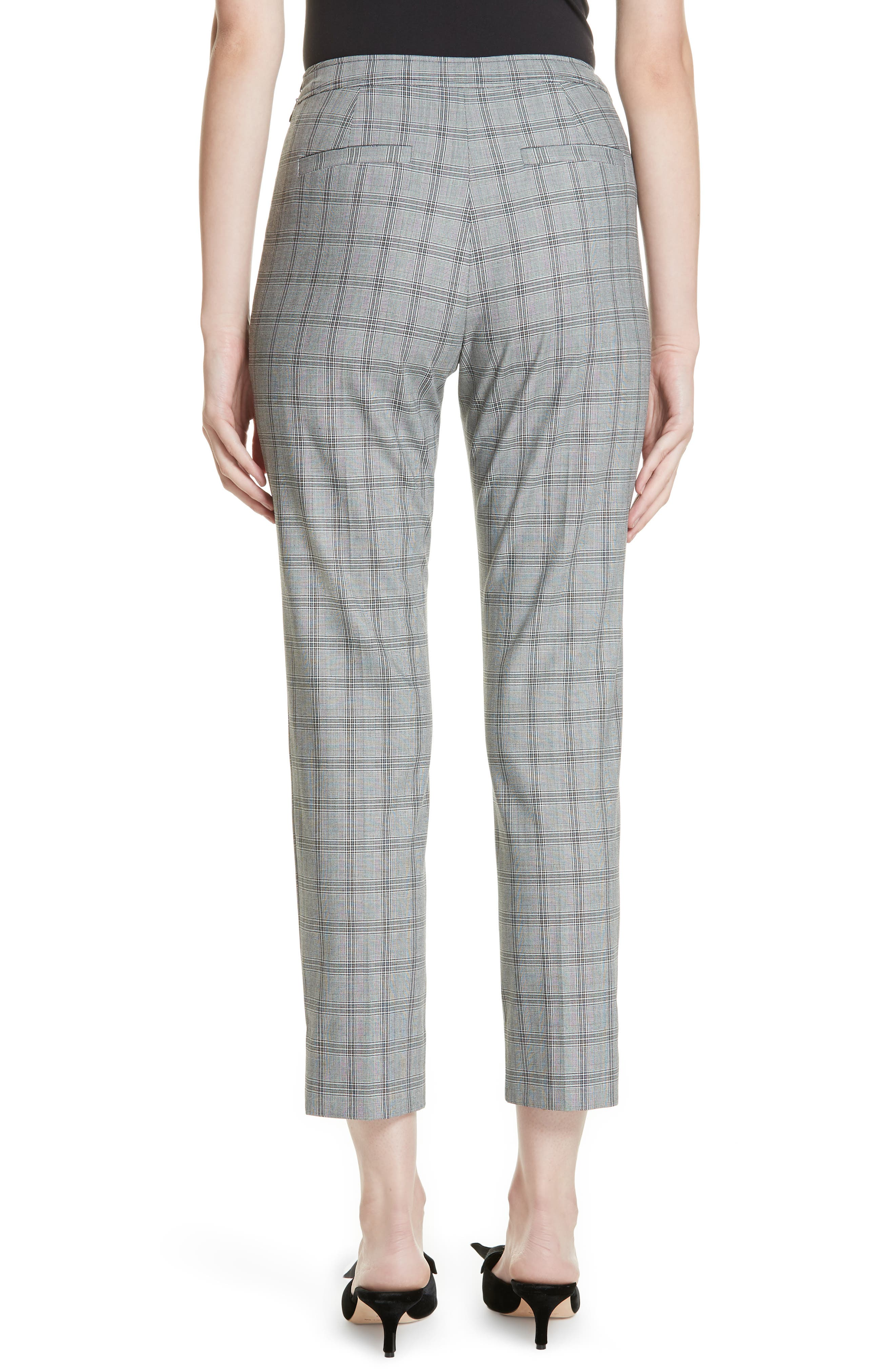 Ted Working Title Ristat Check Plaid Trousers,                             Alternate thumbnail 2, color,                             030